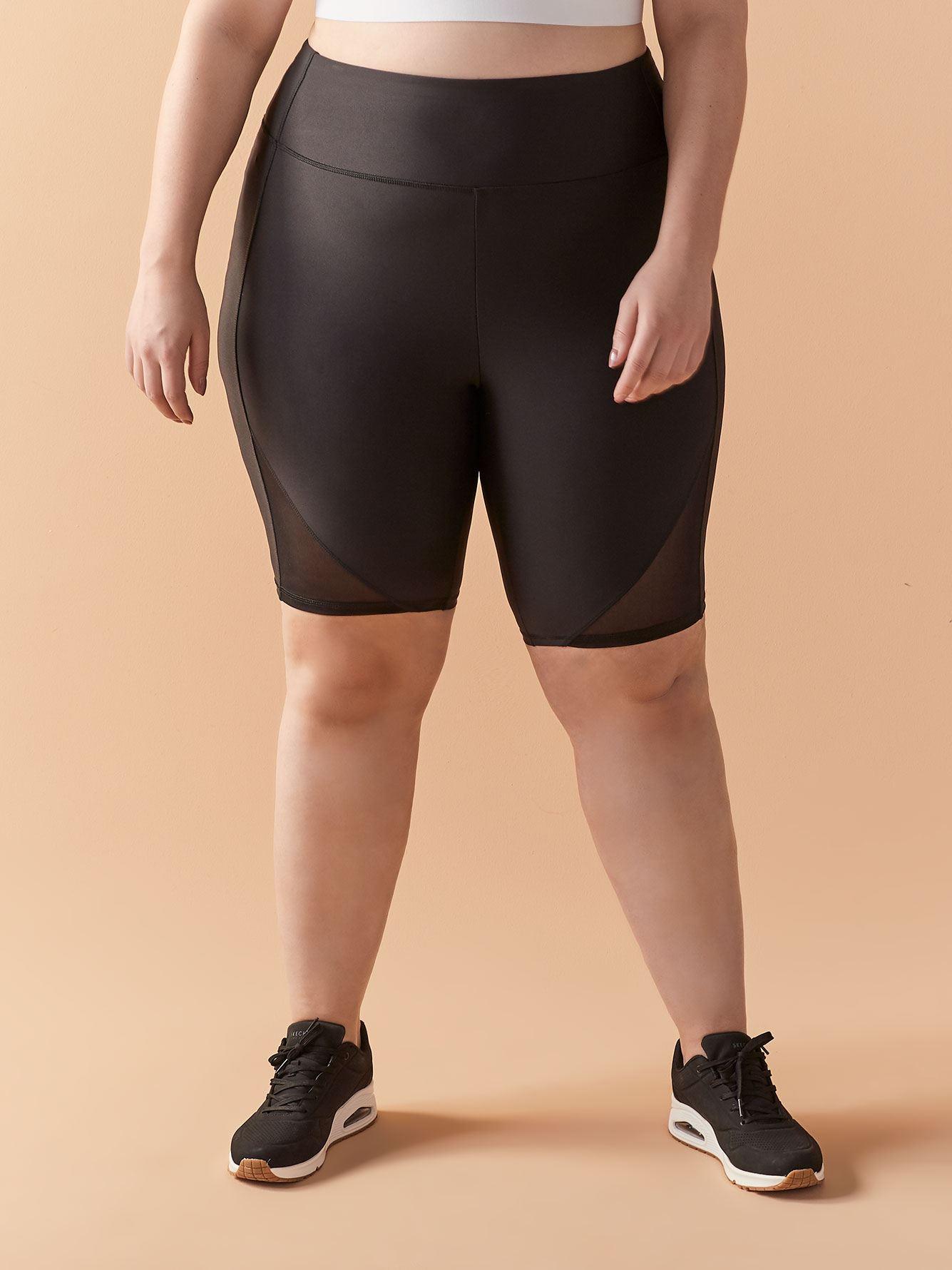 Biker Short with Mesh Insert - ActiveZone