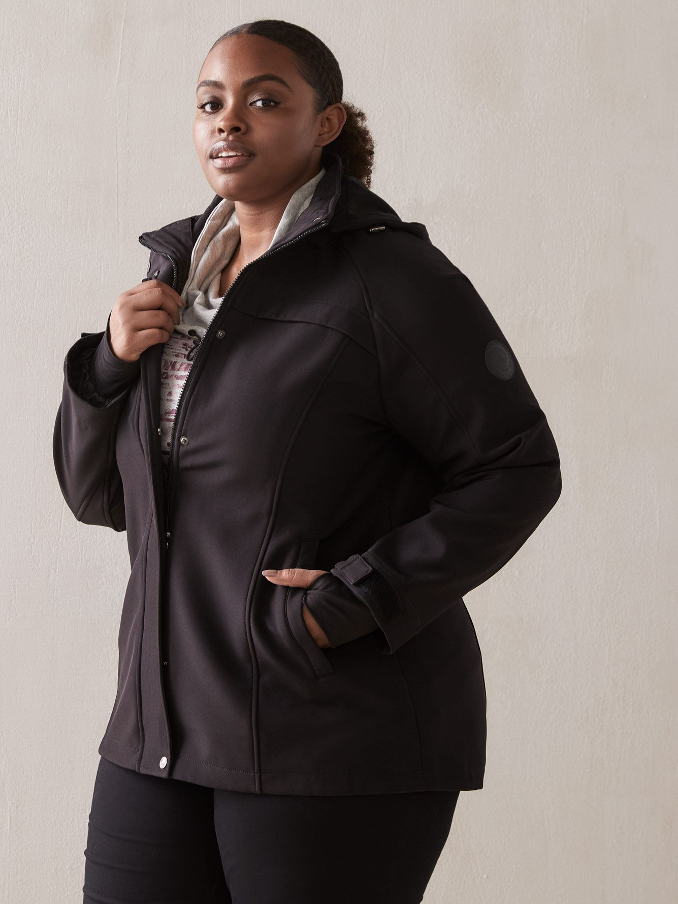 3a54ade84 Women's Plus Size Coats, Jackets & Outerwear | Addition Elle Canada