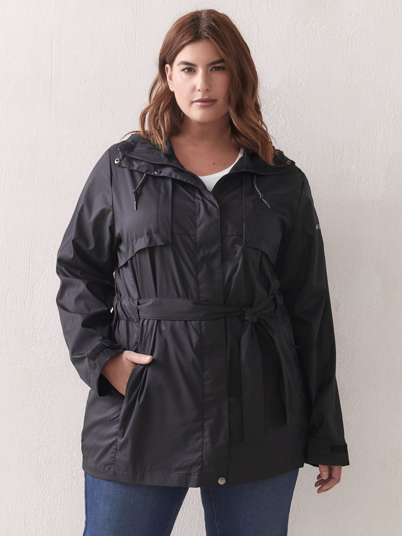 Pardon My Trench Rain Coat - Columbia