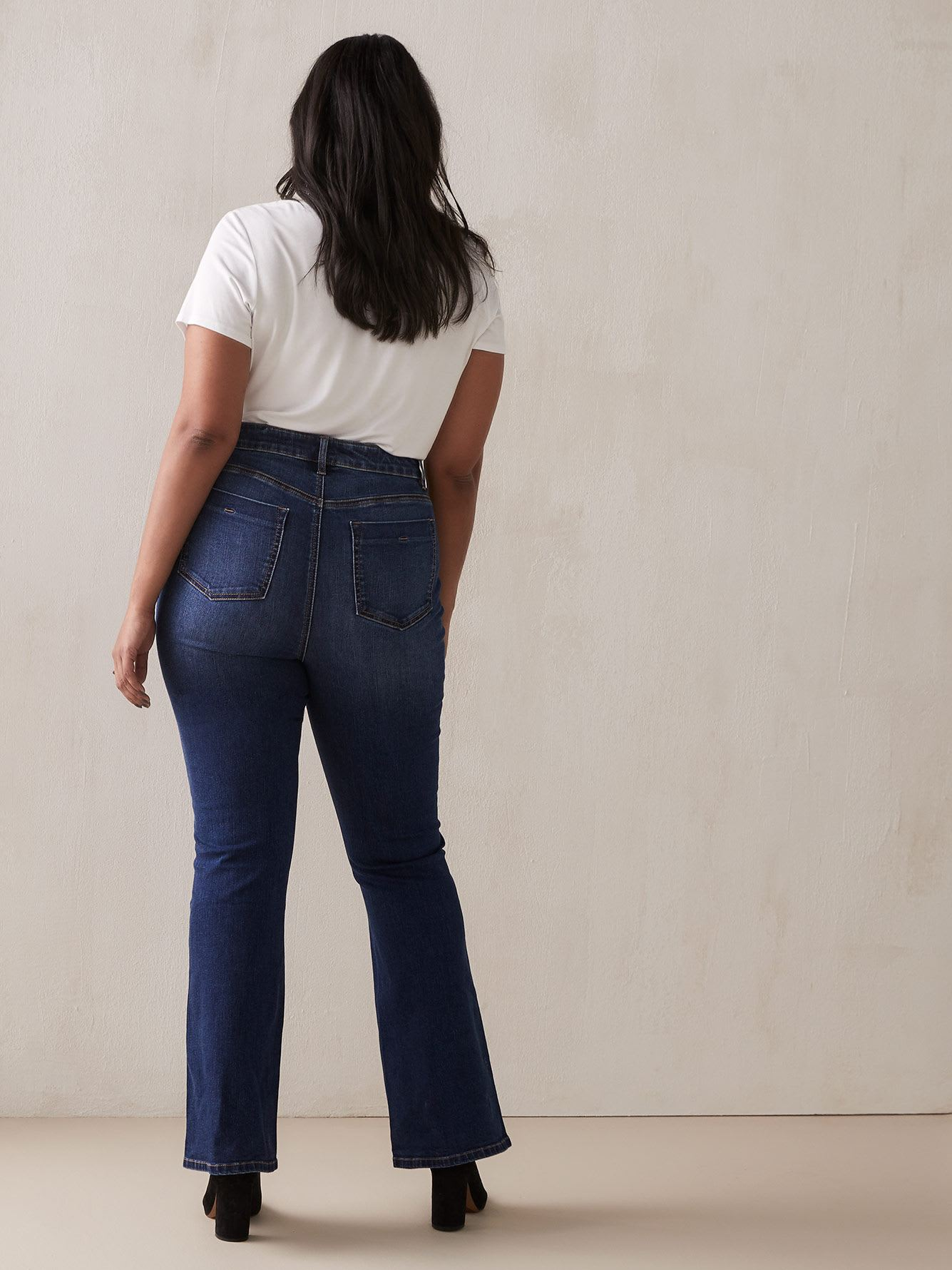 High Waist Flare Jean - Addition Elle
