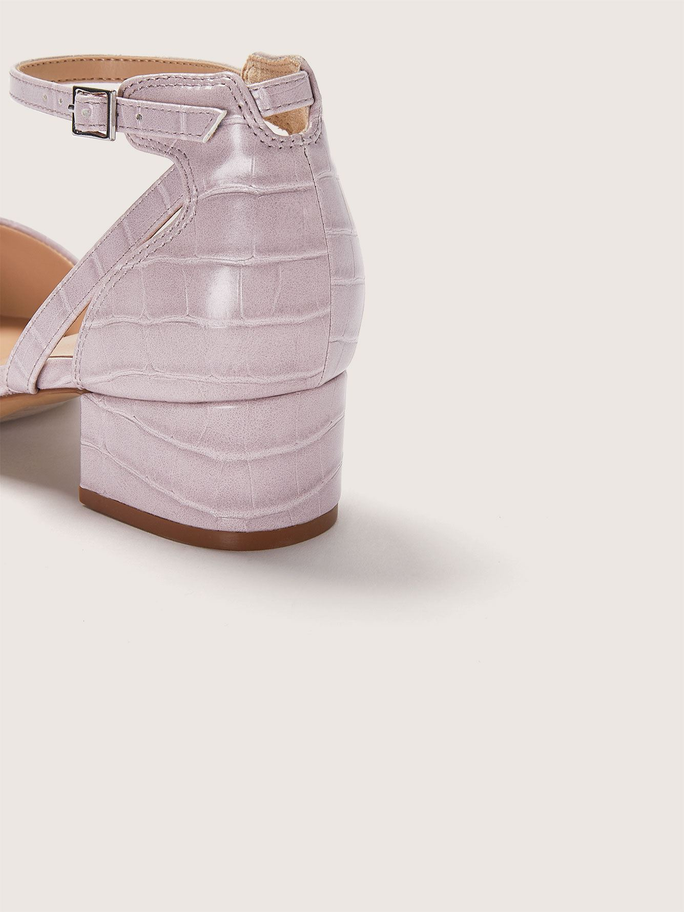 Escarpin à talon bloc, pied large - Addition Elle