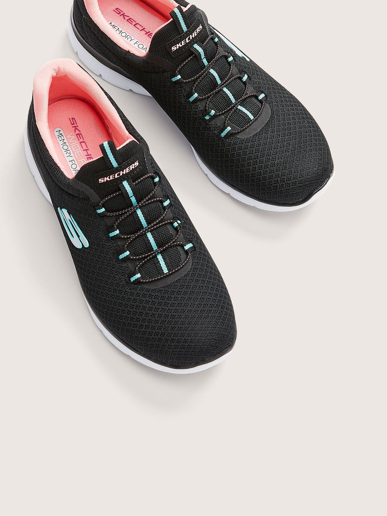 Wide Width Summits Slip-On Sneaker - Skechers