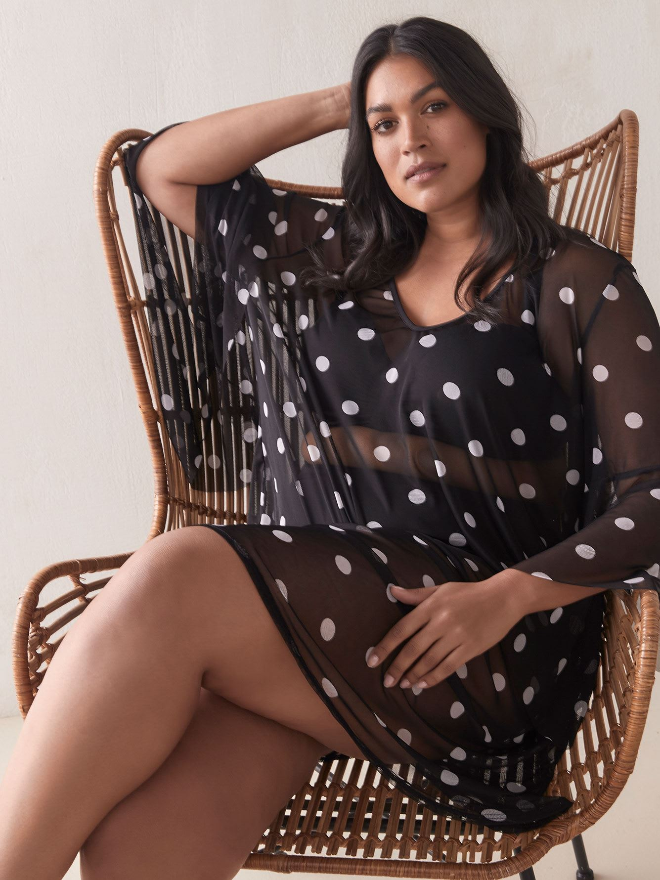 Dotted Cover-Up Tunic - Cover Me