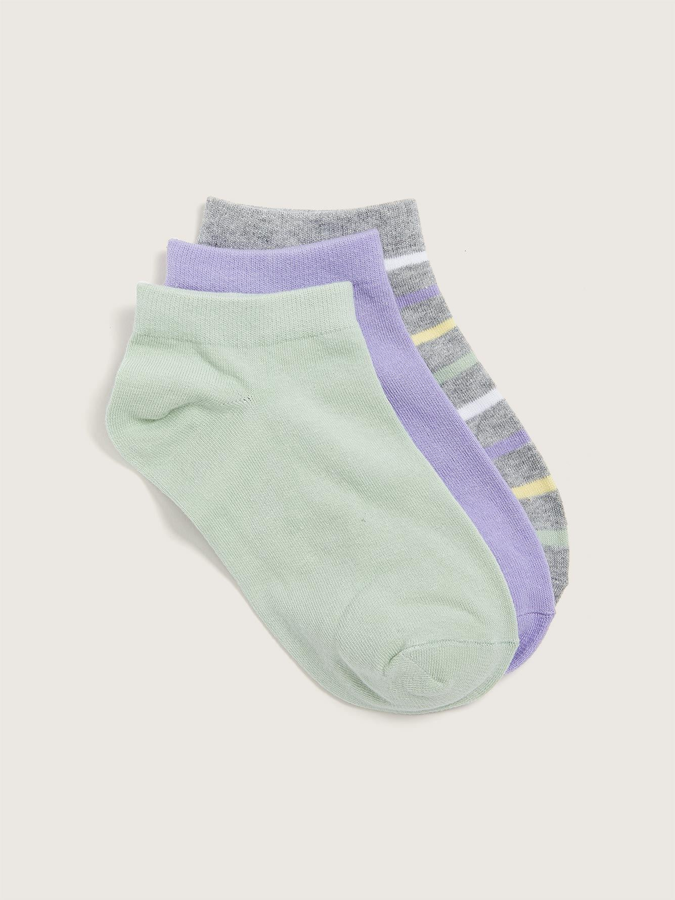 Ankle Socks, 3-Pack - Addition Elle