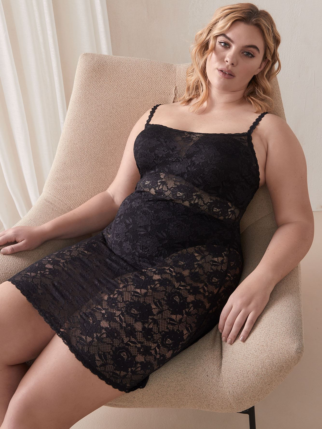 Foxie Never Say Never Lace Babydoll - Cosabella