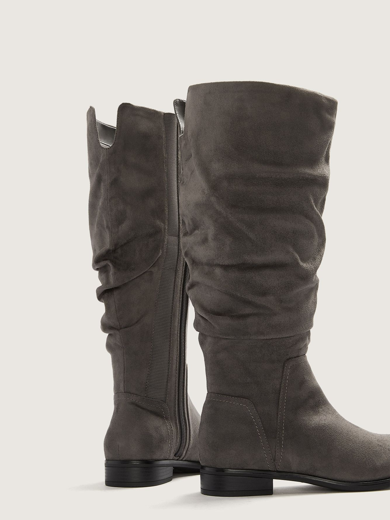 Wide Tall Slouch Stretch Boots - Addition Elle