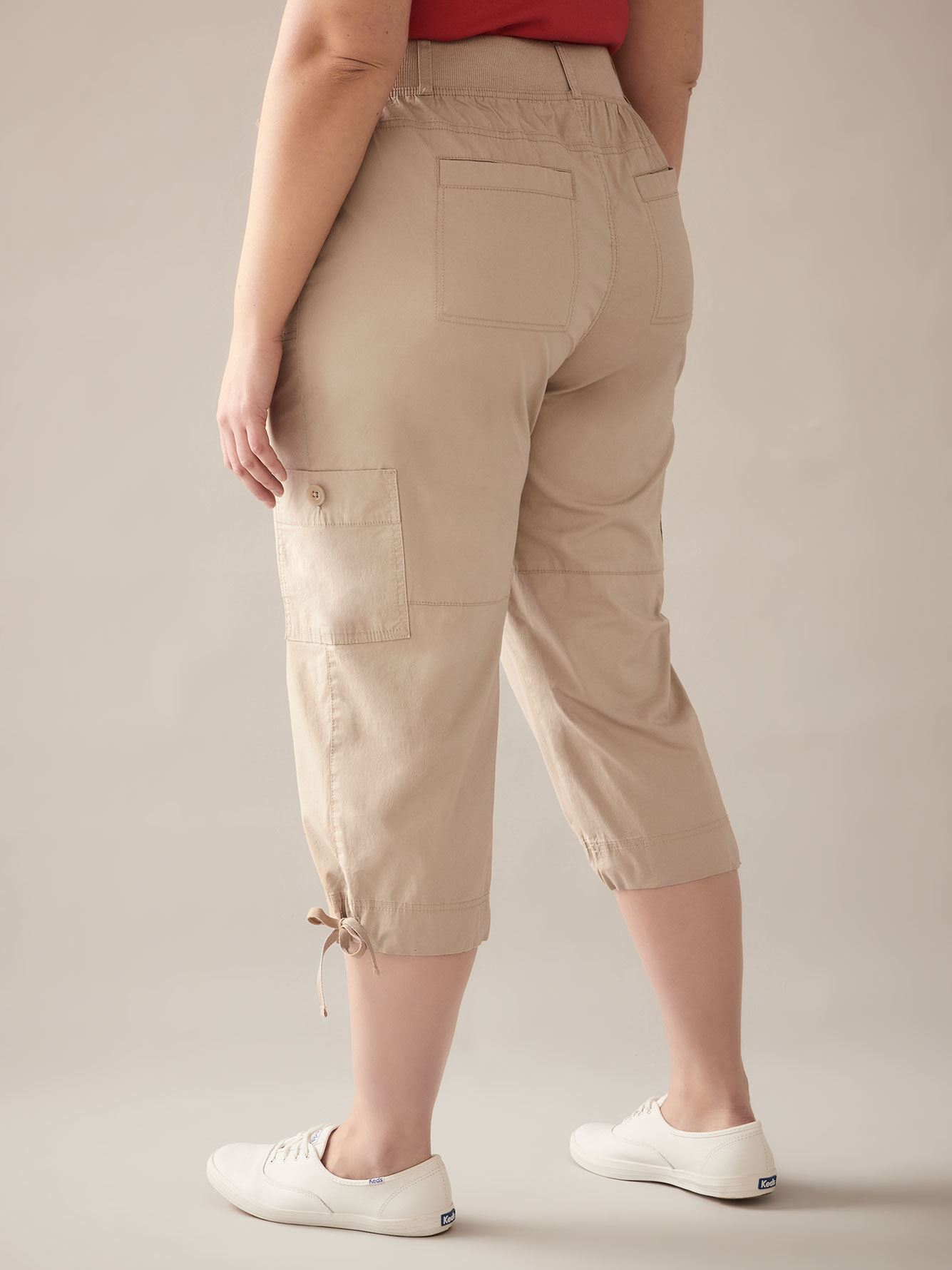 Pantalon capri cargo - In Every Story