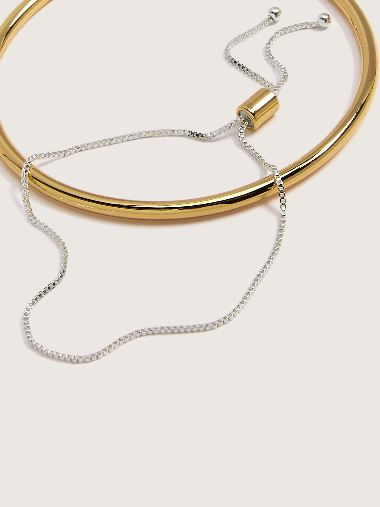 2-Pack Pull and Bangle Bracelets - Addition Elle
