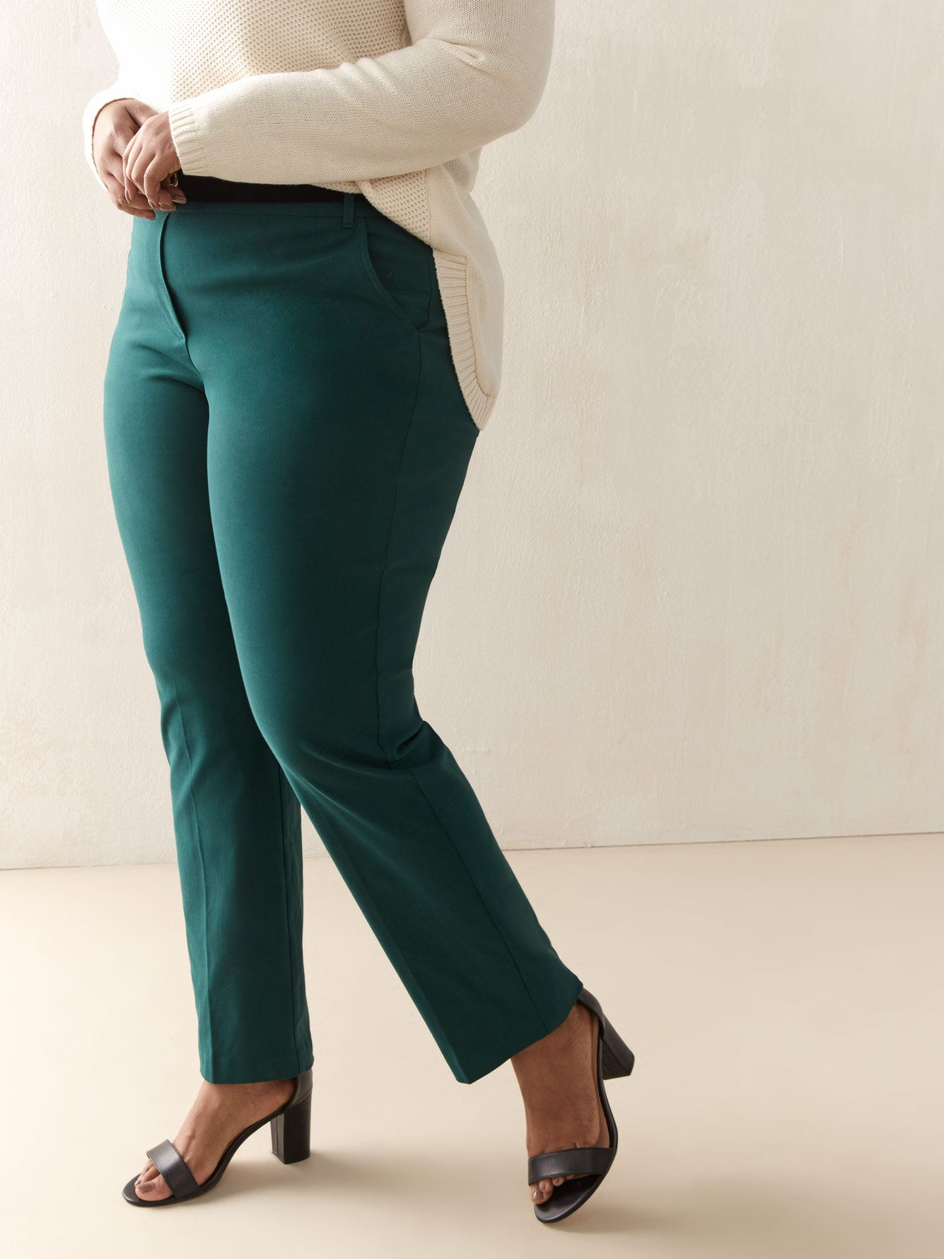 Pantalon droit uni - Addition Elle
