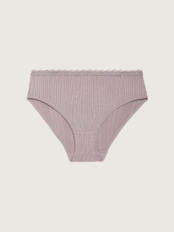 Textured High Cut Panty - Addition Elle