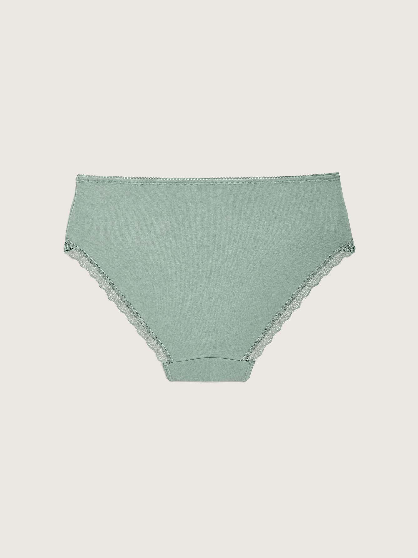 Solid Cotton Hipster Panty - Déesse Collection