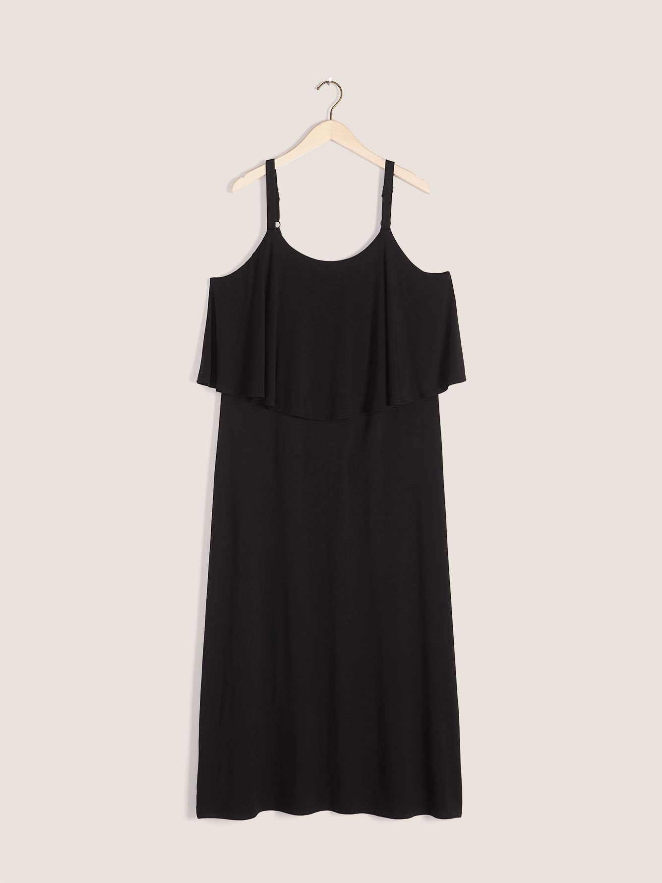 Maxi Dress with Overlay Top - In Every Story