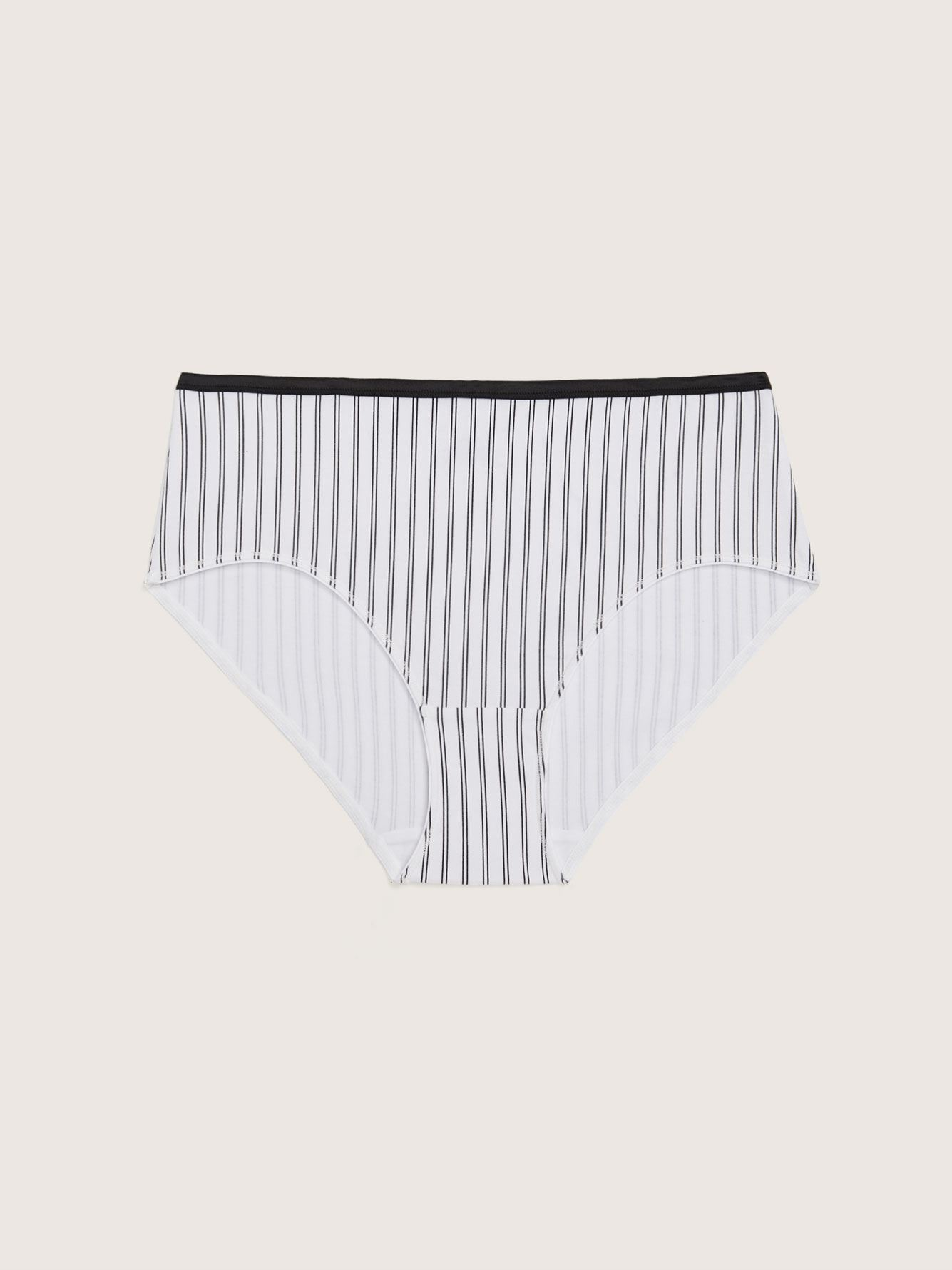 Striped Brief Panty - Addition Elle