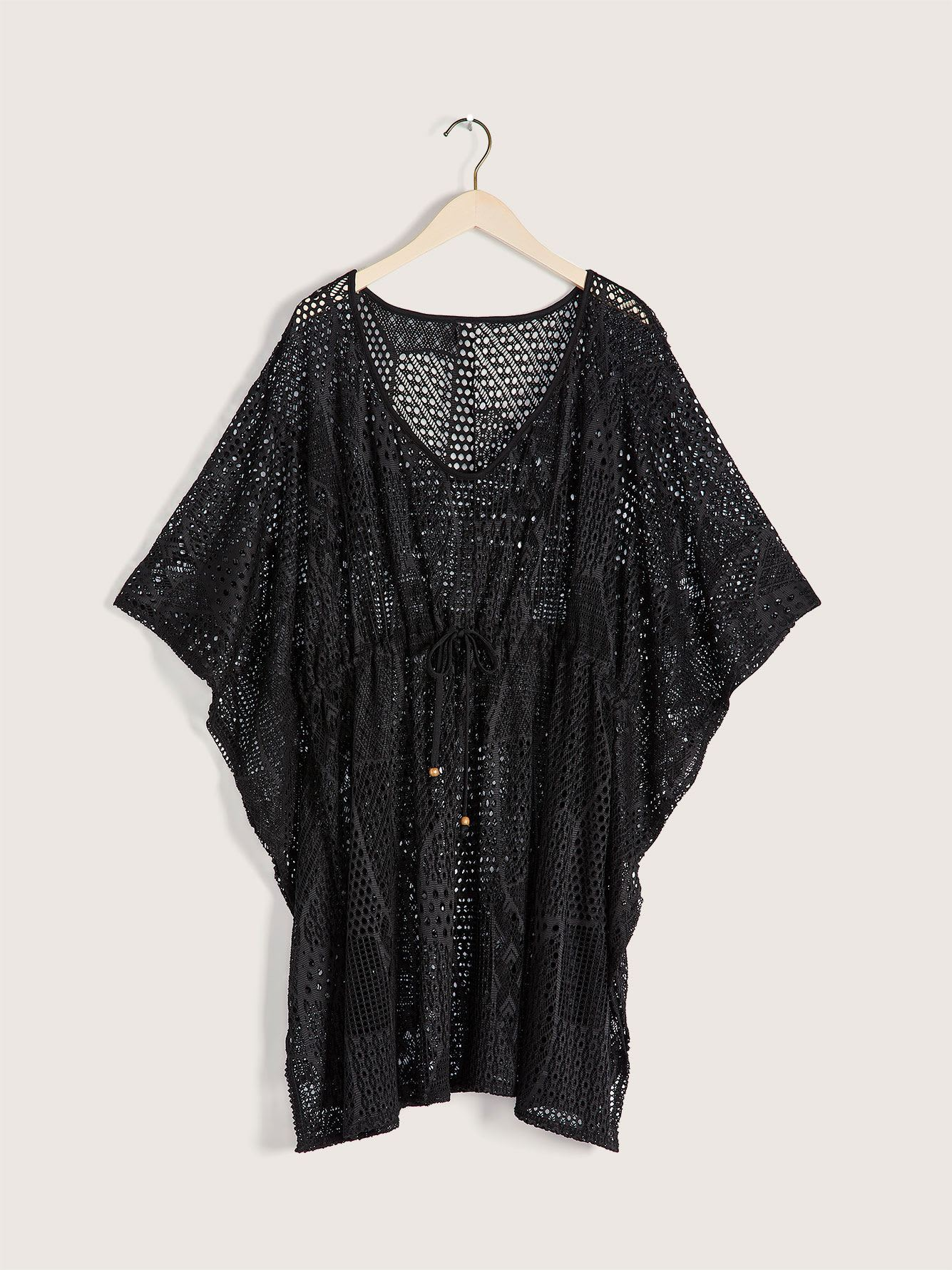 Sandy Bay Crochet Tunic Cover-Up - Cover Me