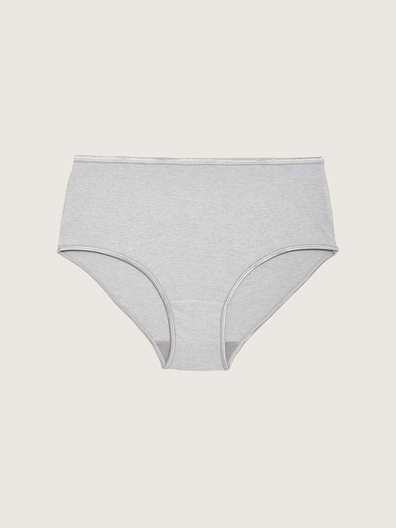 Ribbed Brief Panty with Elastic - ti Voglio