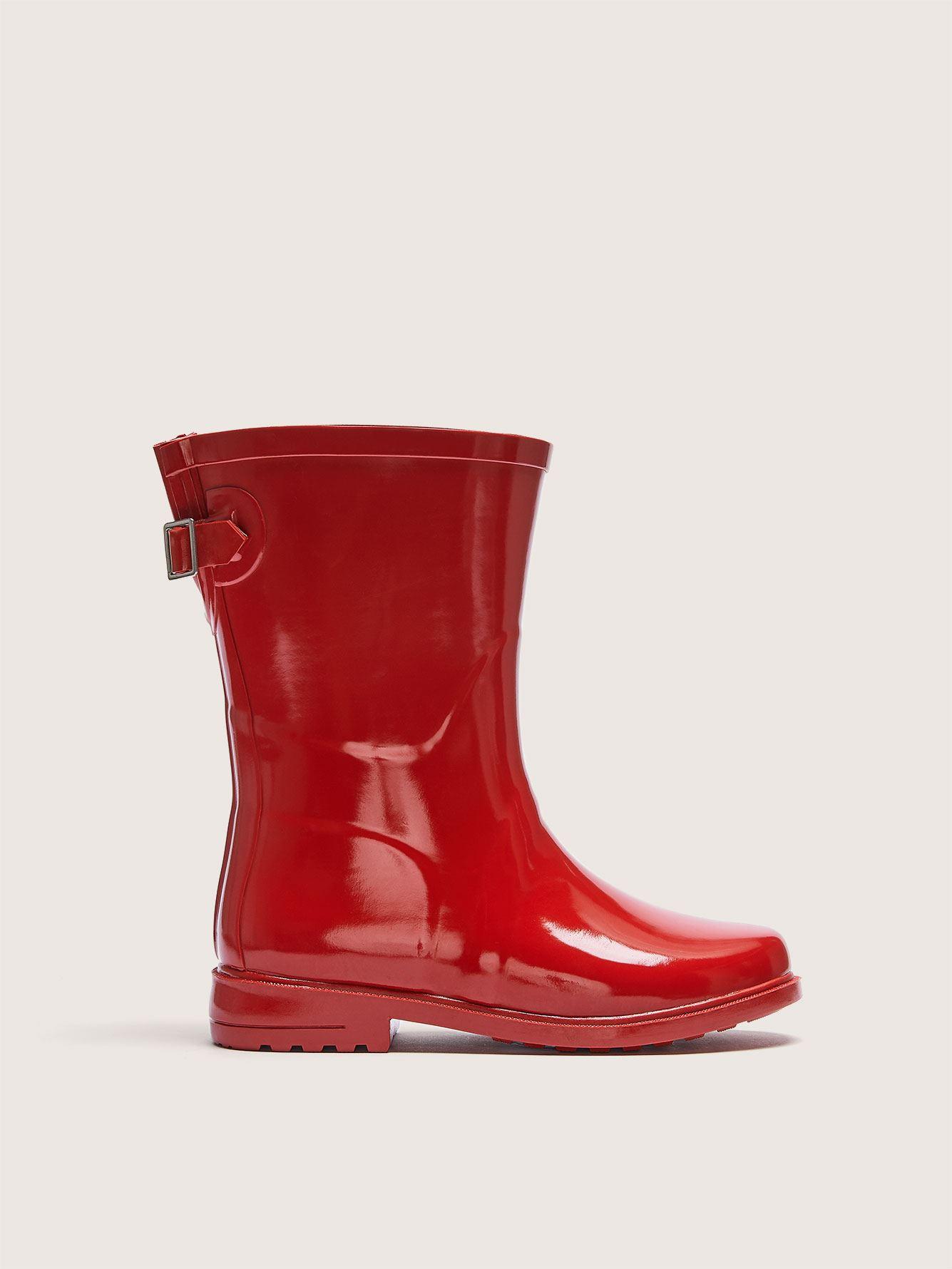 Wide Width Mid Calf Rainboots - Addition Elle
