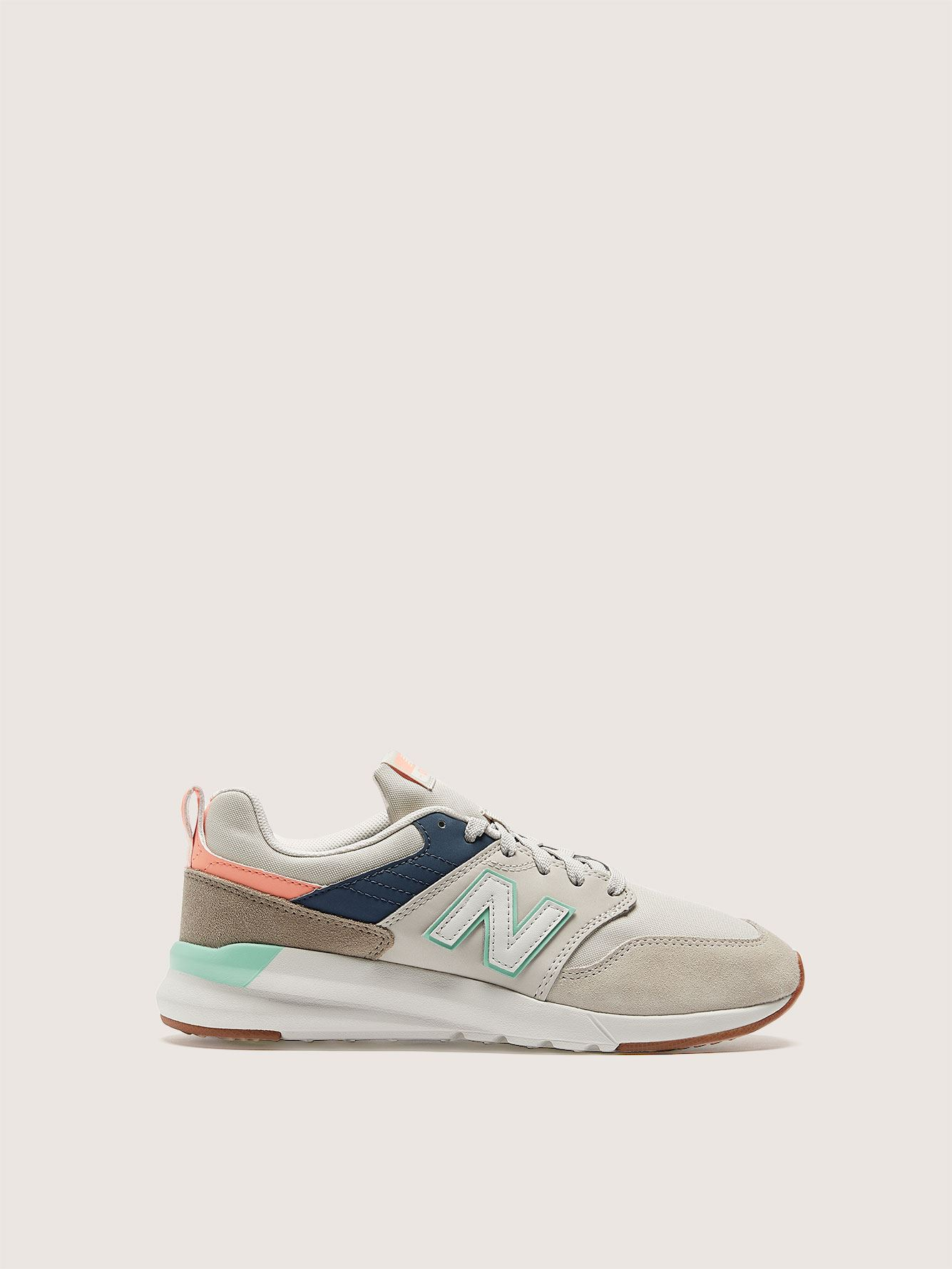Chaussure sport style rétro, pied large - New Balance