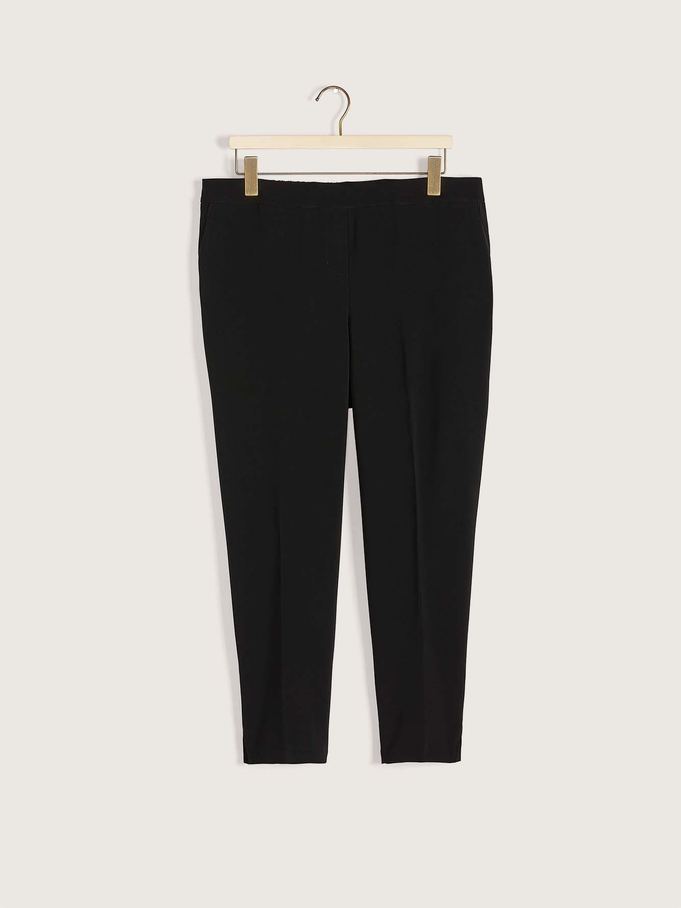 Petite, Tapered Ankle Pant - Addition Elle