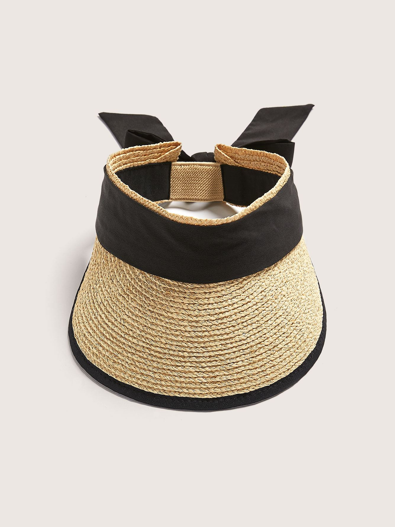 Packable Straw Visor - Addition Elle