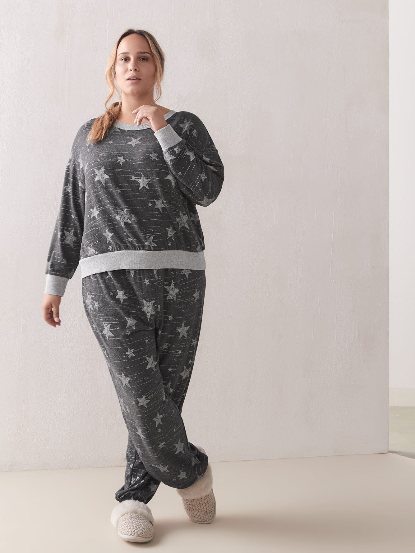 Soft Jersey PJ Set - Splendid