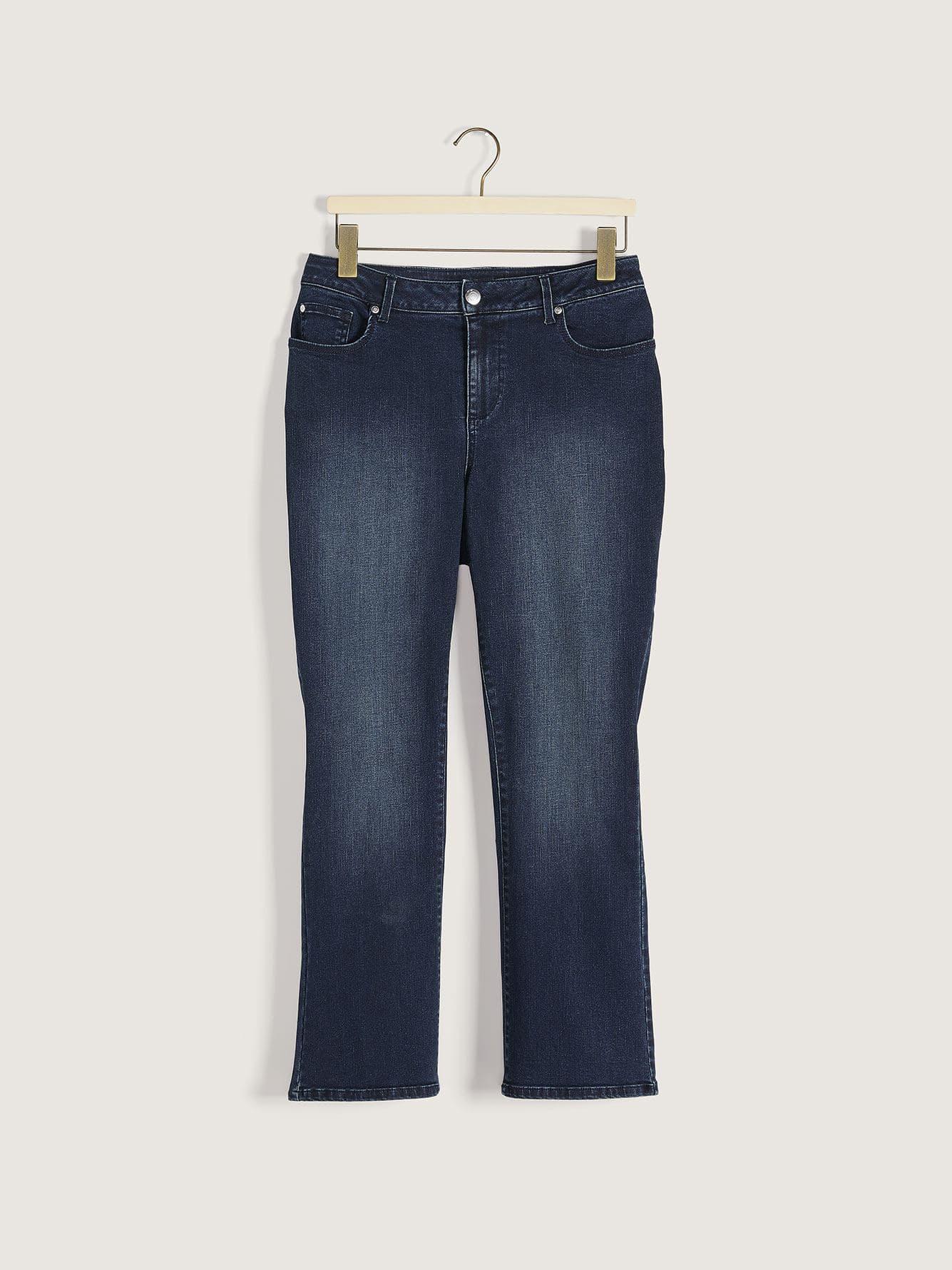 Universal Fit, Dark Blue Bootcut Jean - d/C JEANS