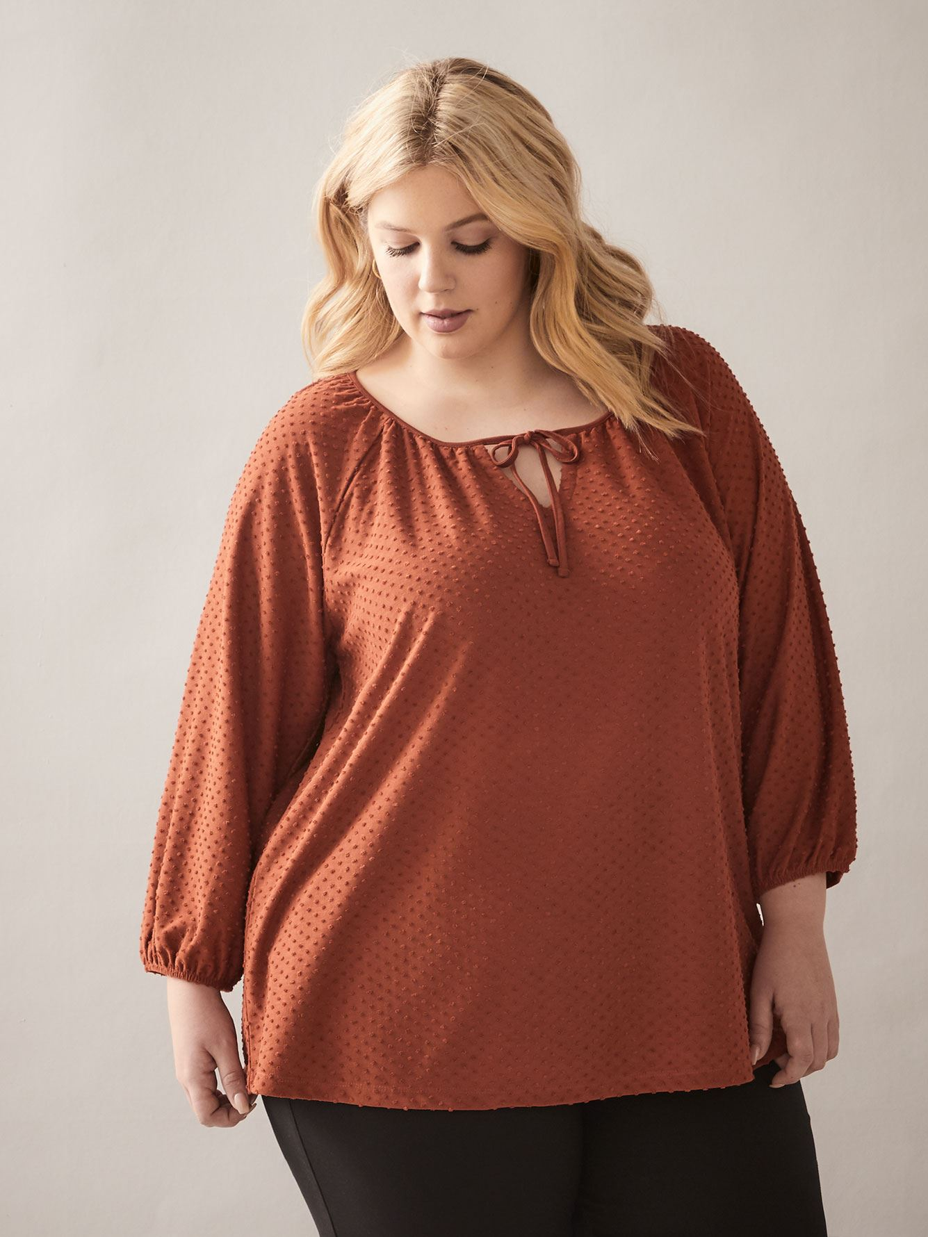 Blouse with Tassel - In Every Story