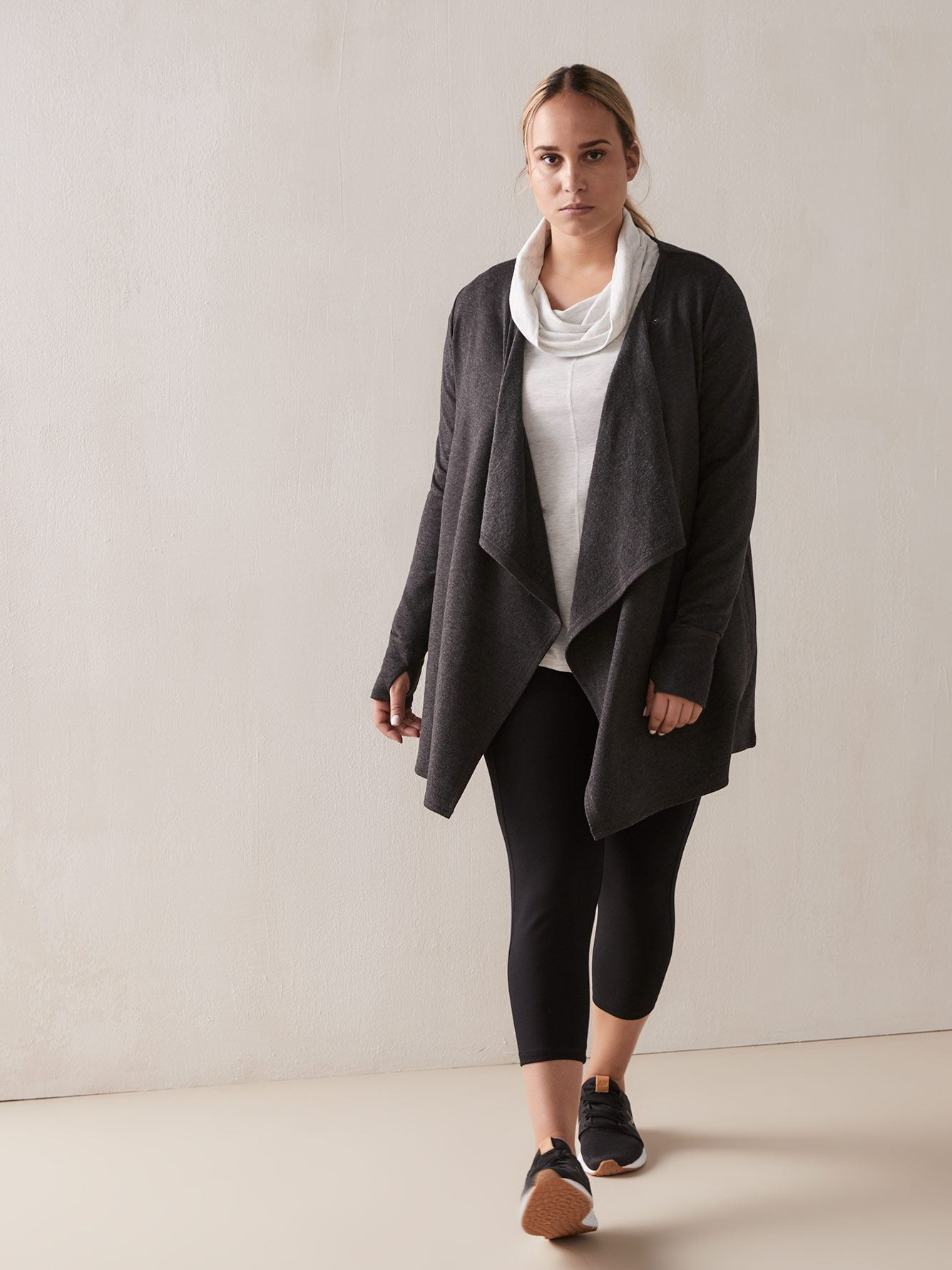 Addition Elle - Draped Cardigan