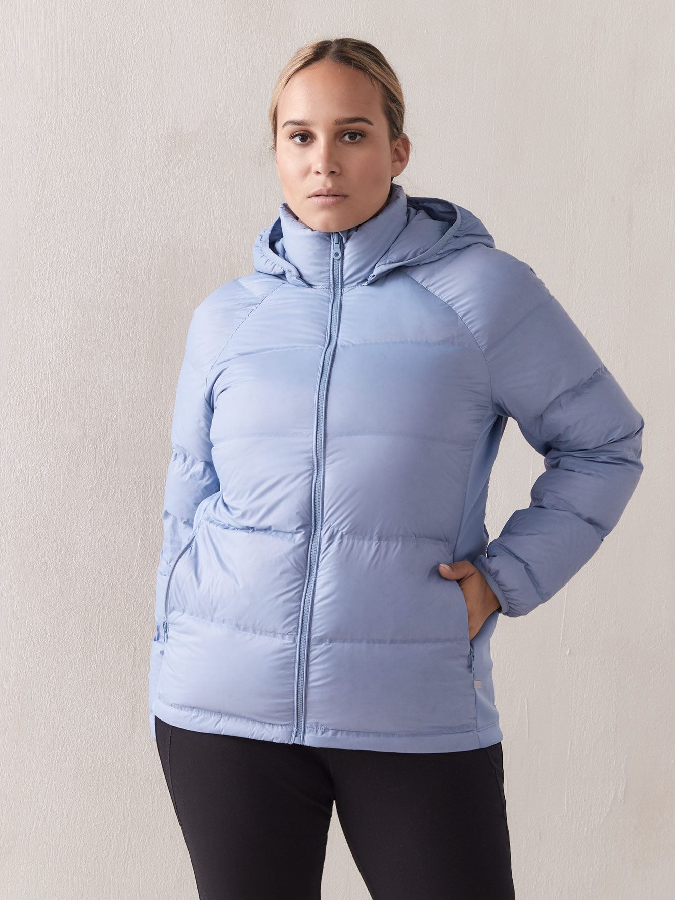 Packable Quilted Down Jacket - Addition Elle