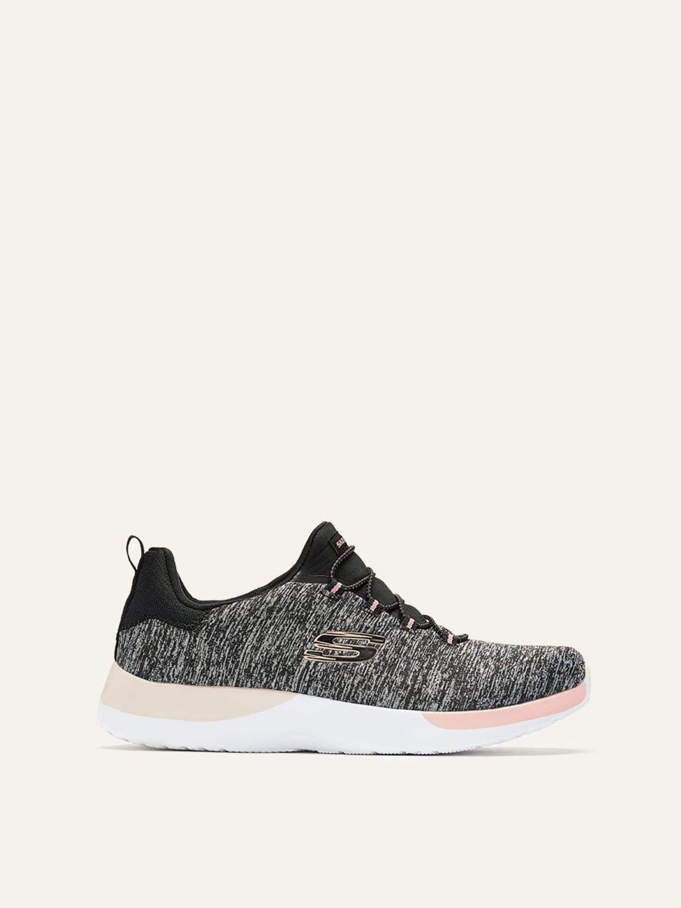 Skechers Dynamight, Break-Through - Wide Width Heathered Sneakers