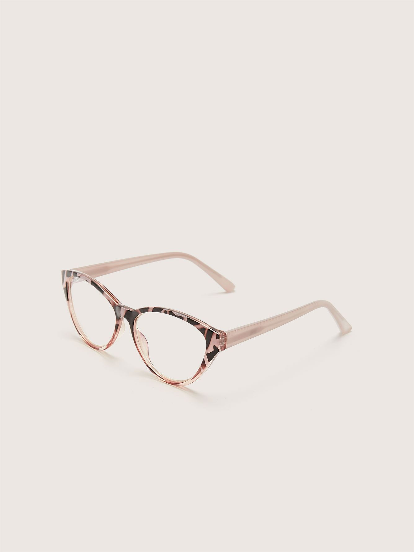 Blue Lens Tortoise Glasses - Addition Elle