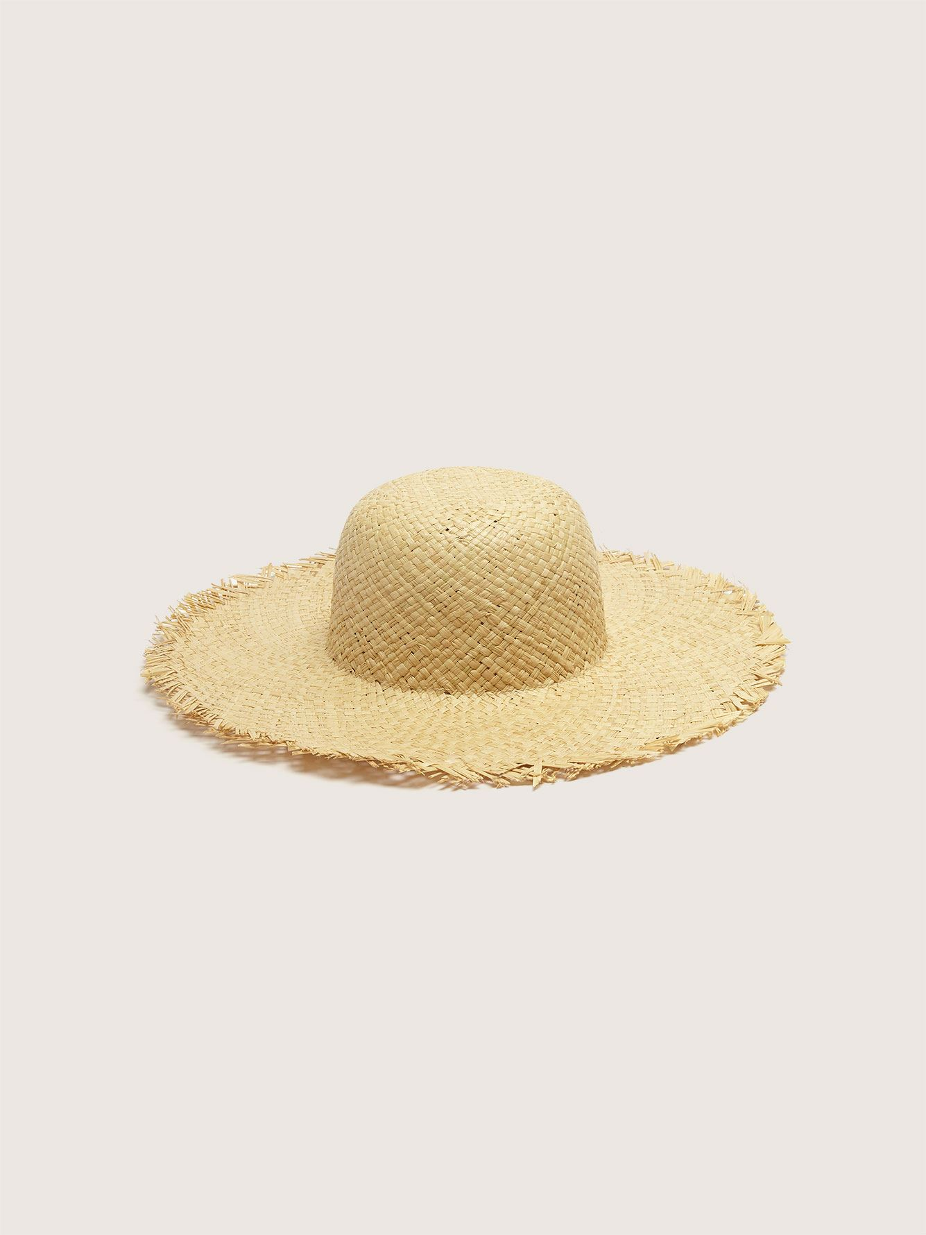 Frayed Straw Hat - Addition Elle