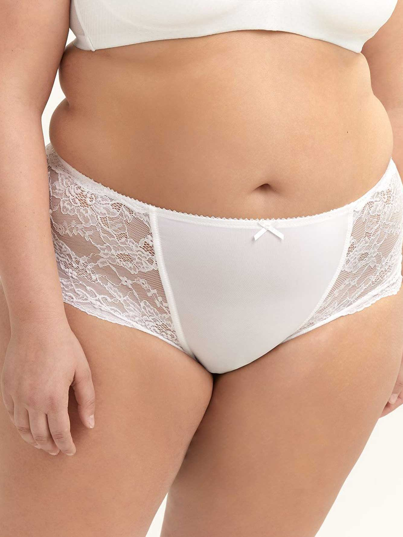Boyshort Panty with Lace - ti Voglio
