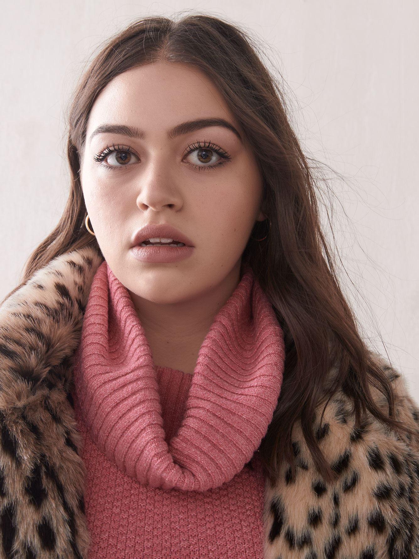Round-Hem Mossy Sweater - Addition Elle