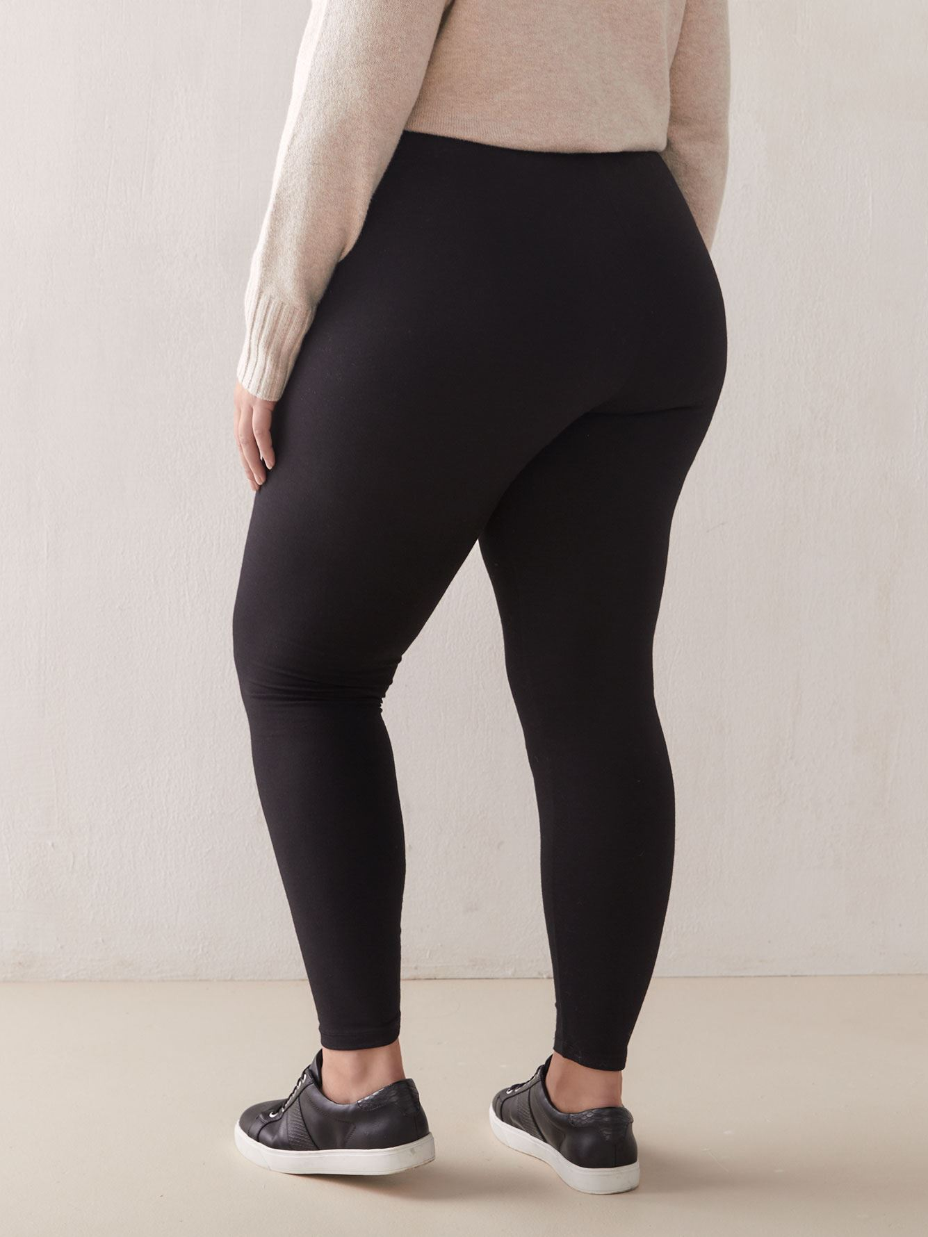 Basic Cotton Leggings - Hue