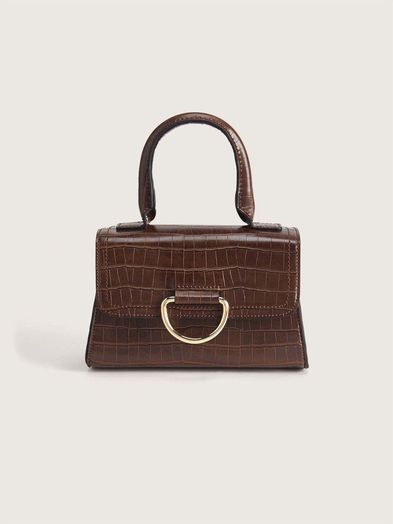 Mini Croco Handbag - Addition Elle
