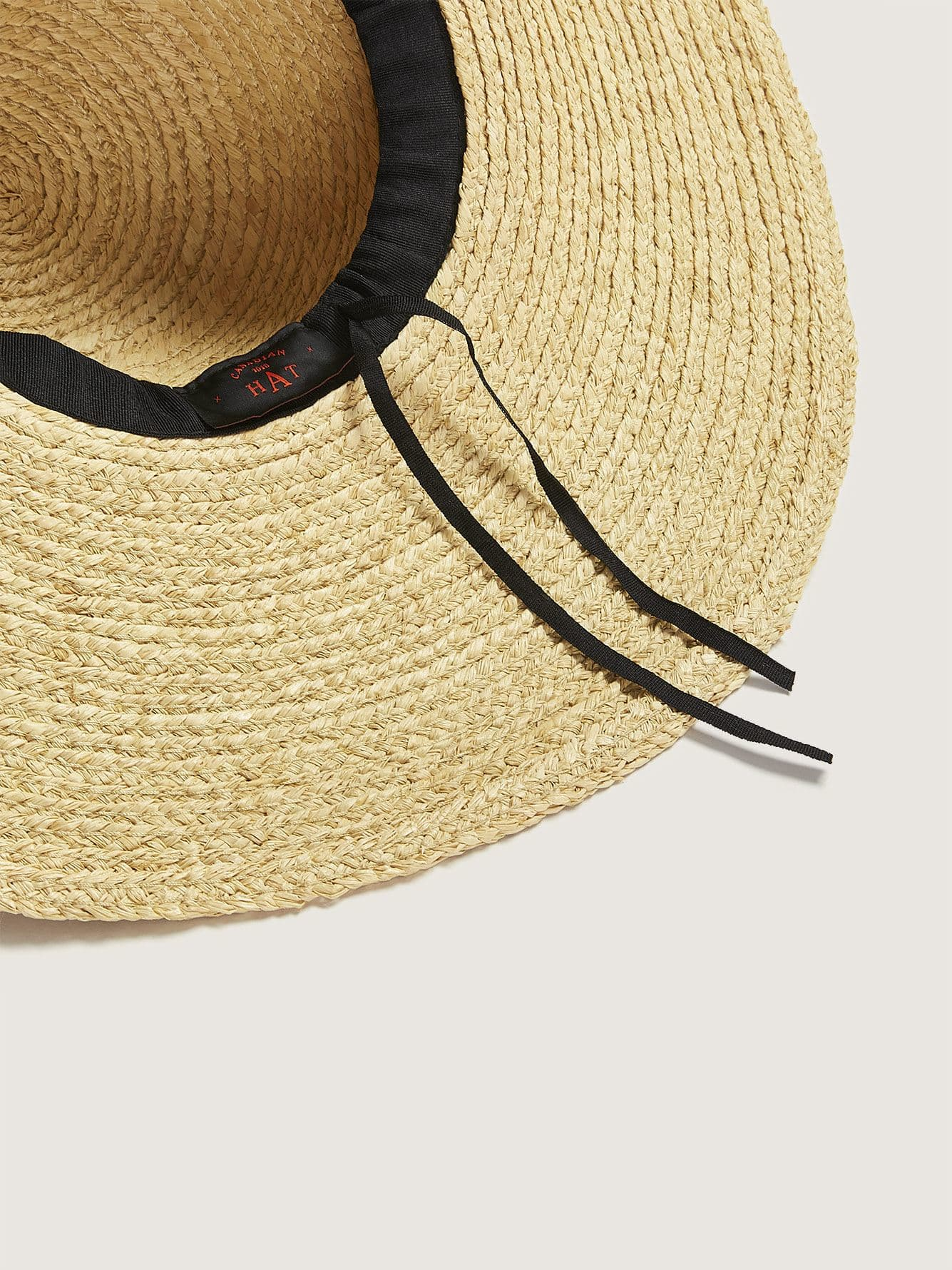 Canadian Hat - Floppy Straw Hat
