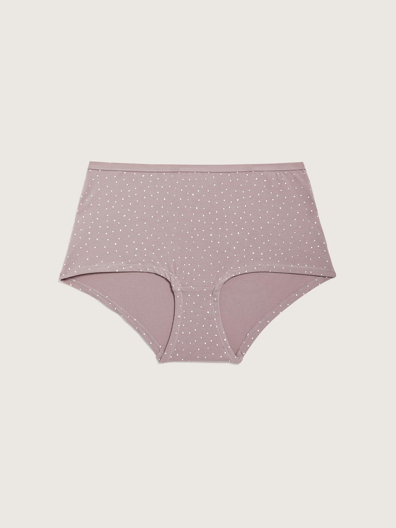 Printed Boyshort Panty - Addition Elle