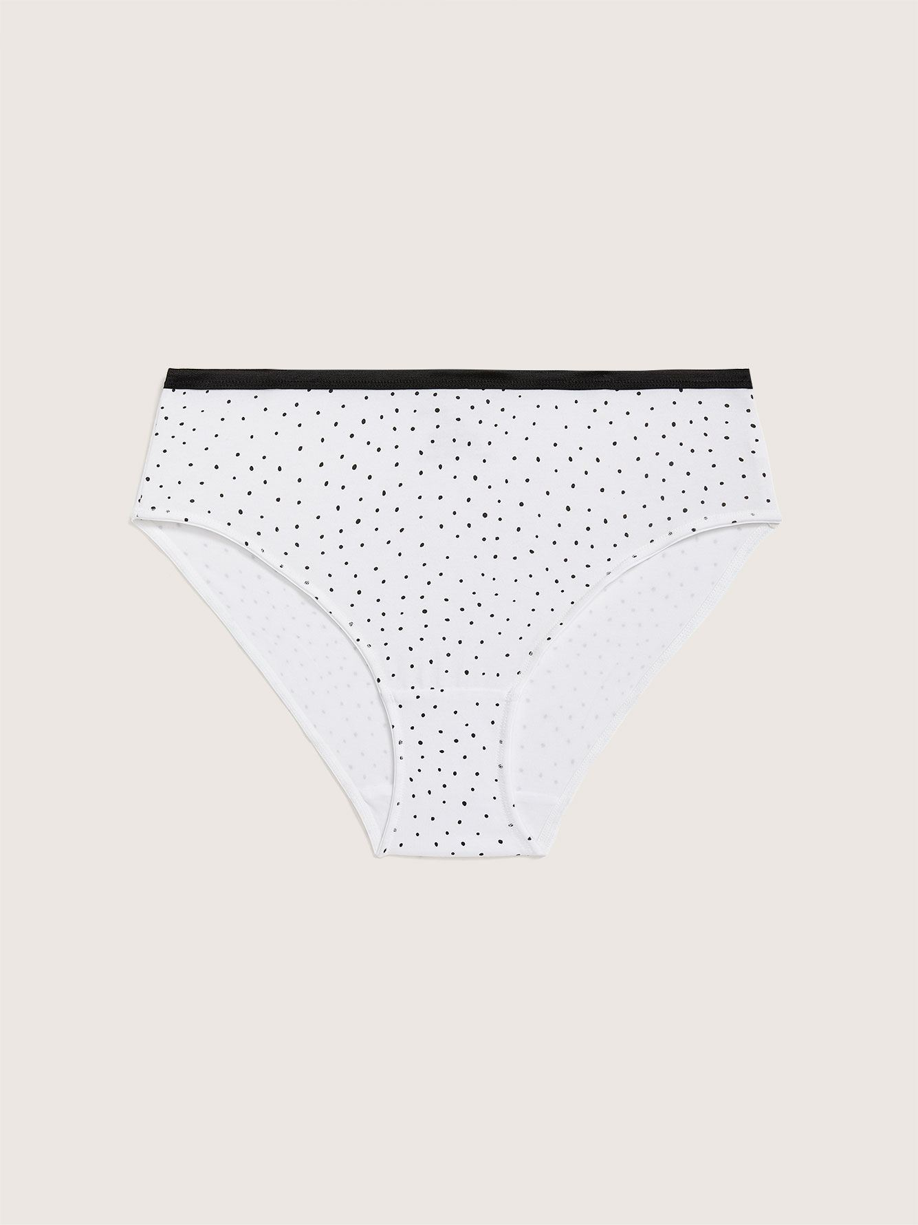 Printed High Cut Brief Panty - Addition Elle