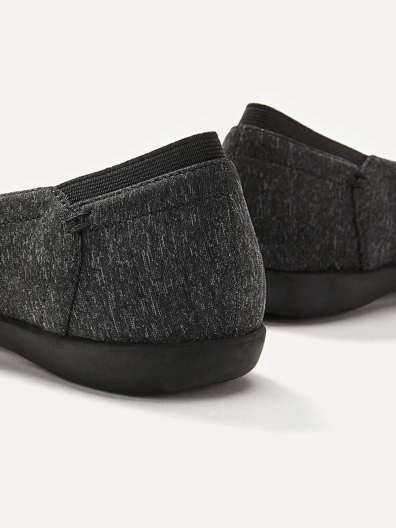 Chaussures à enfiler ballerine, pieds extra-larges