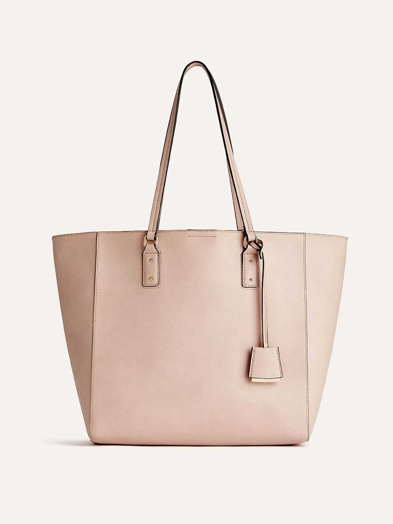Tote Bag with Luggage Tag - Addition Elle
