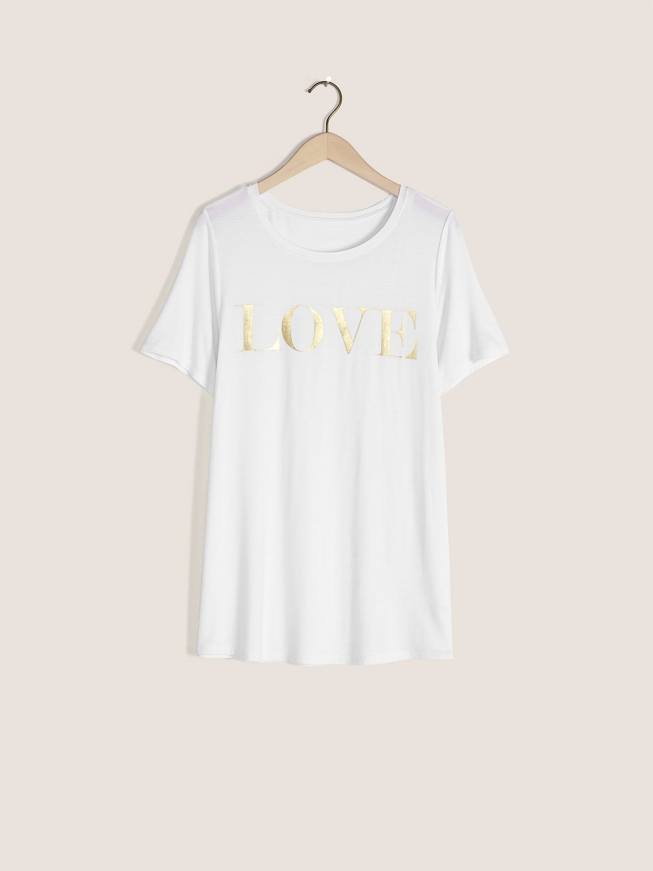 Printed Crew-Neck T-Shirt - In Every Story