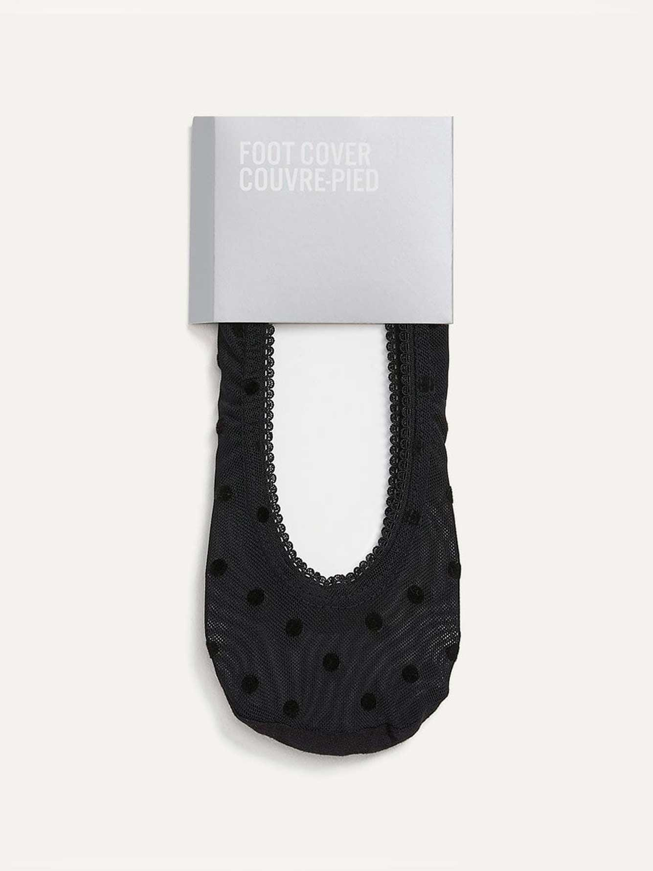 Dotted Mesh Foot Covers