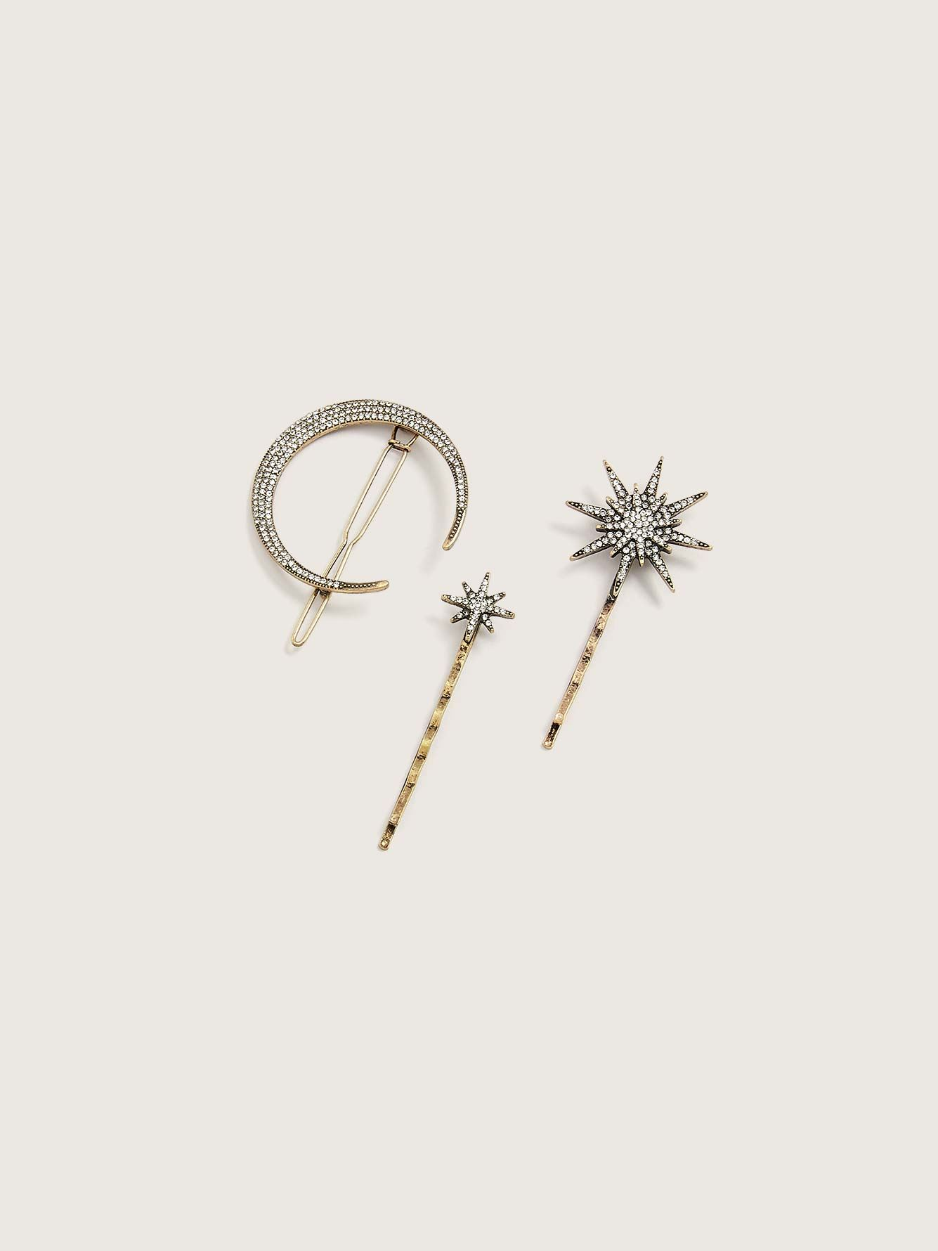 Astro Hair Pins, Pack of 3 - Addition Elle