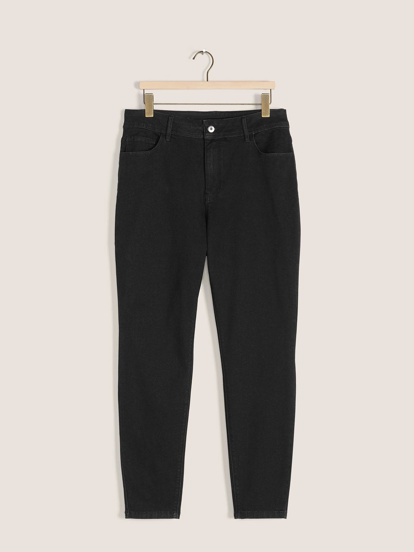 Ultra-Stretchy Black Jegging - d/C JEANS