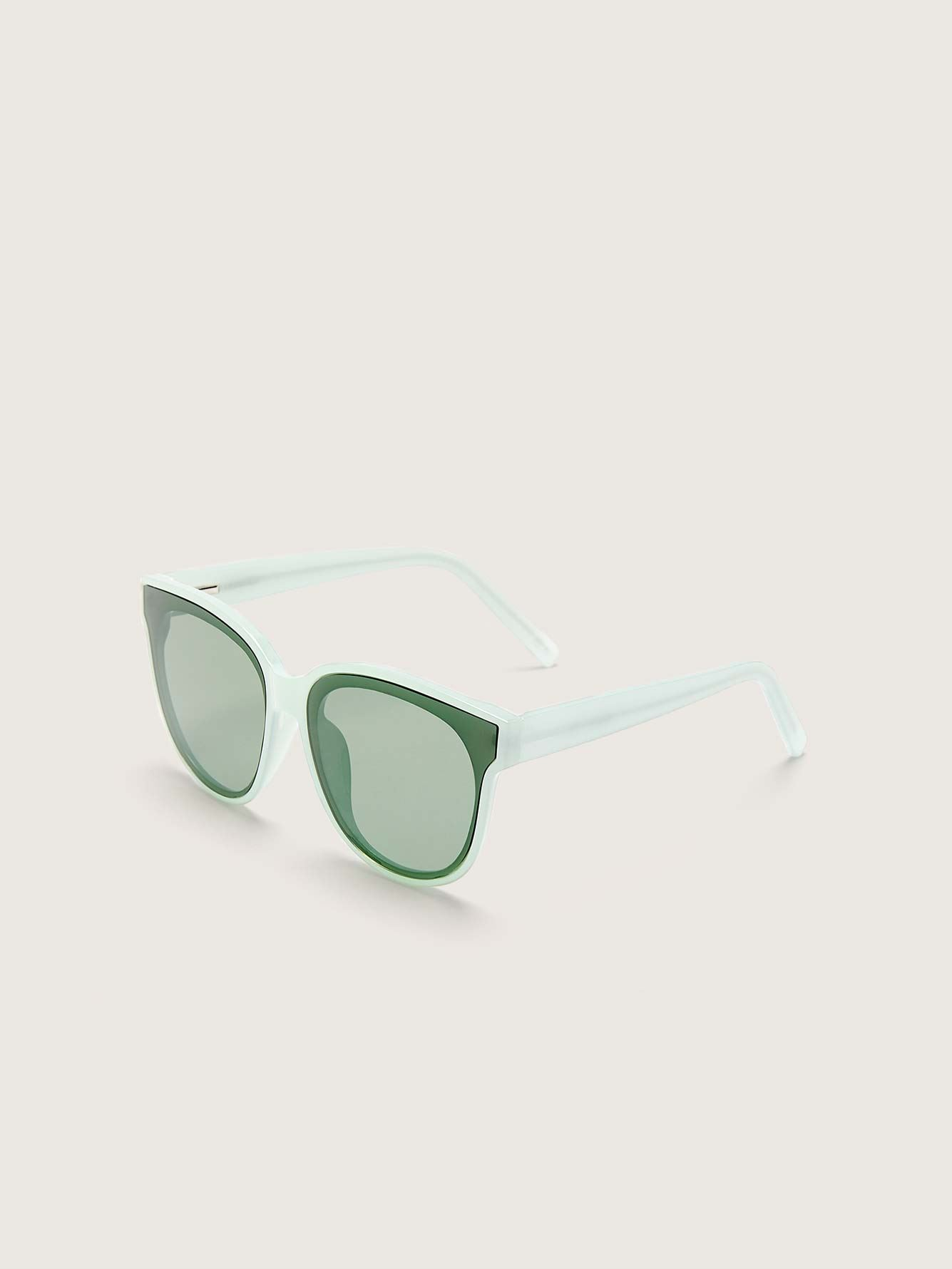 Plastic Round Sunglasses - Addition Elle