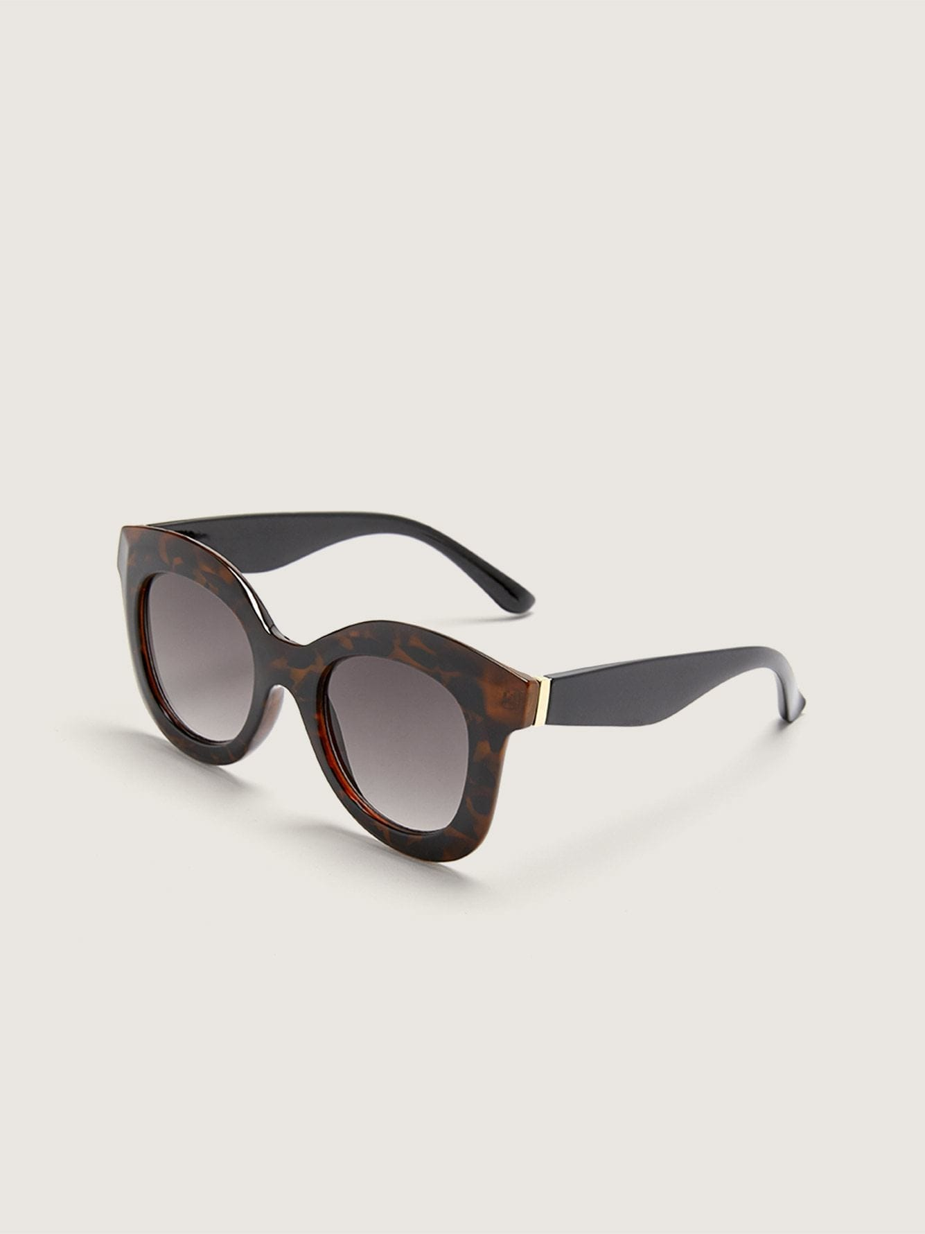Tortoise Rectangle Sunglasses