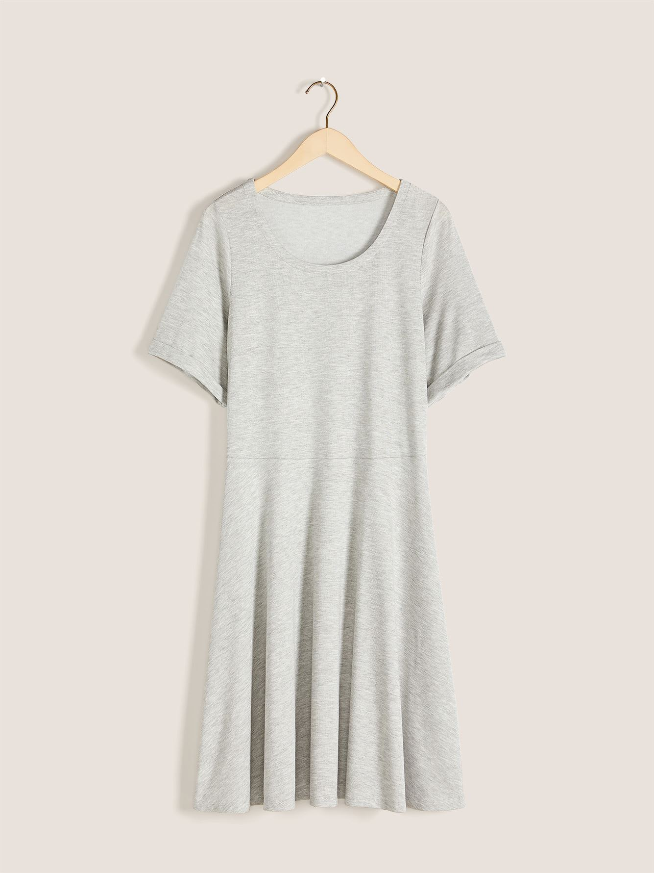 Short Sleeve Skater Dress - In Every Story