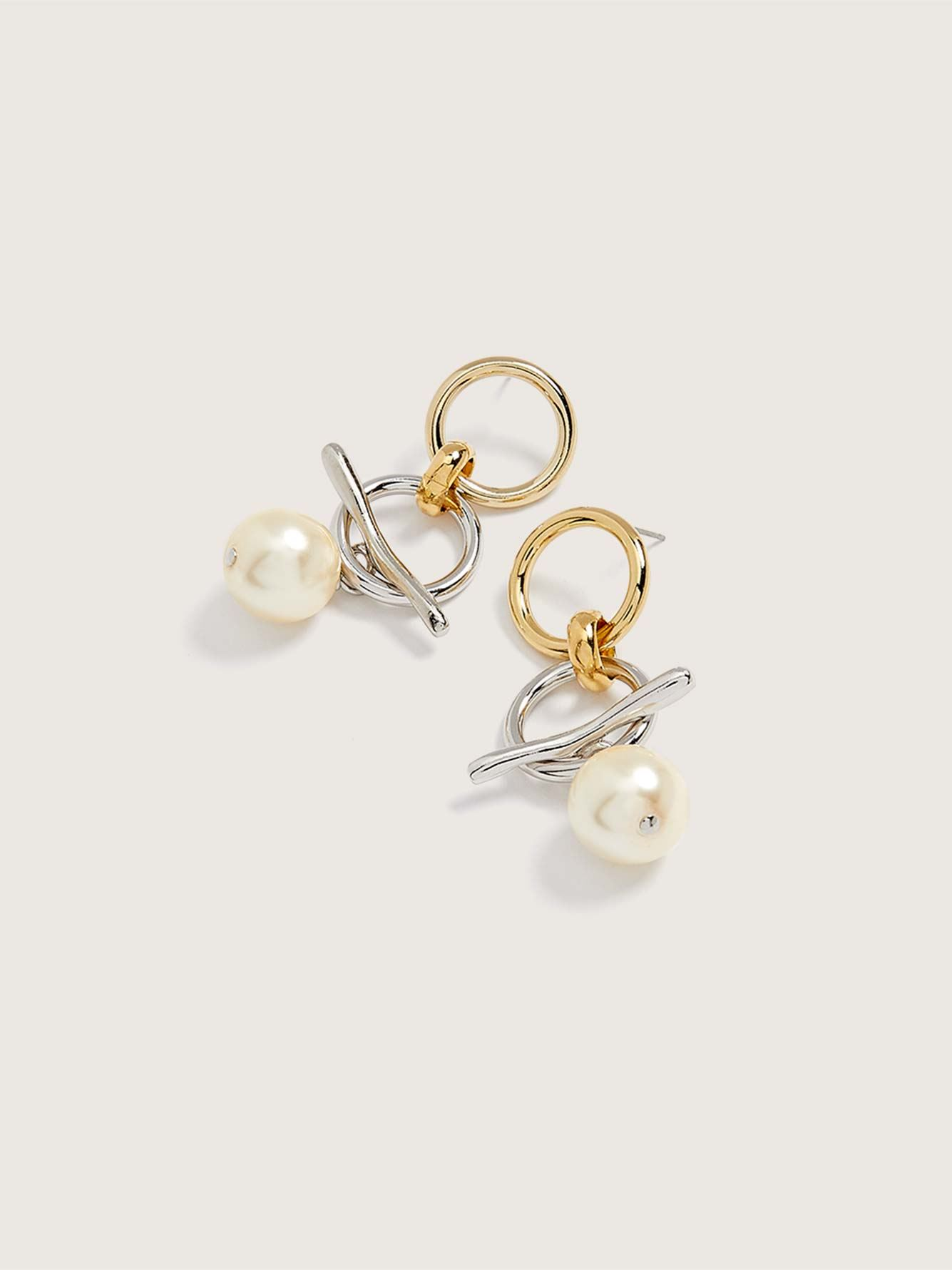 Adelphi 2-in-1 Stud Earrings - Biko