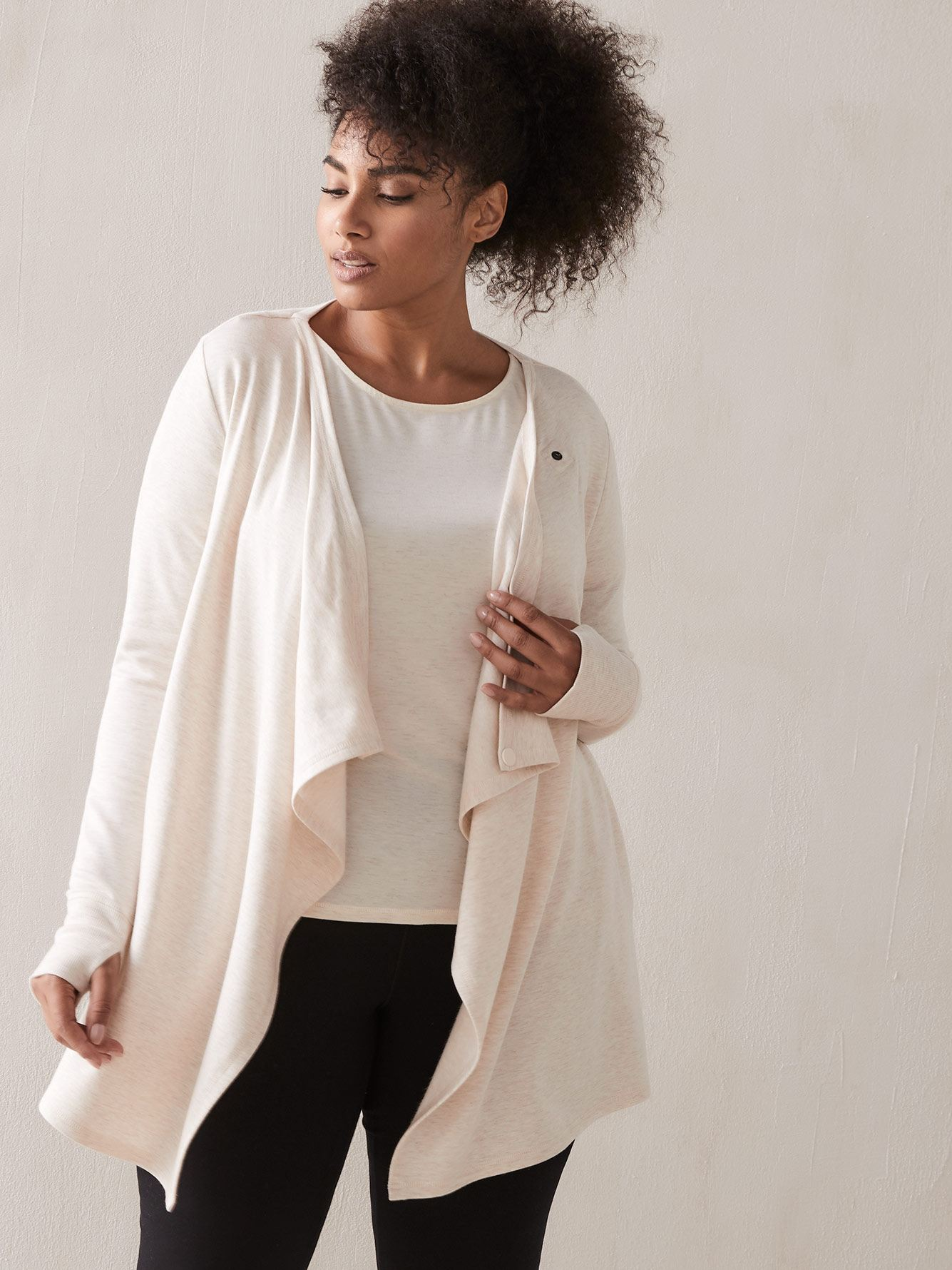 Draped Cardigan - Addition Elle