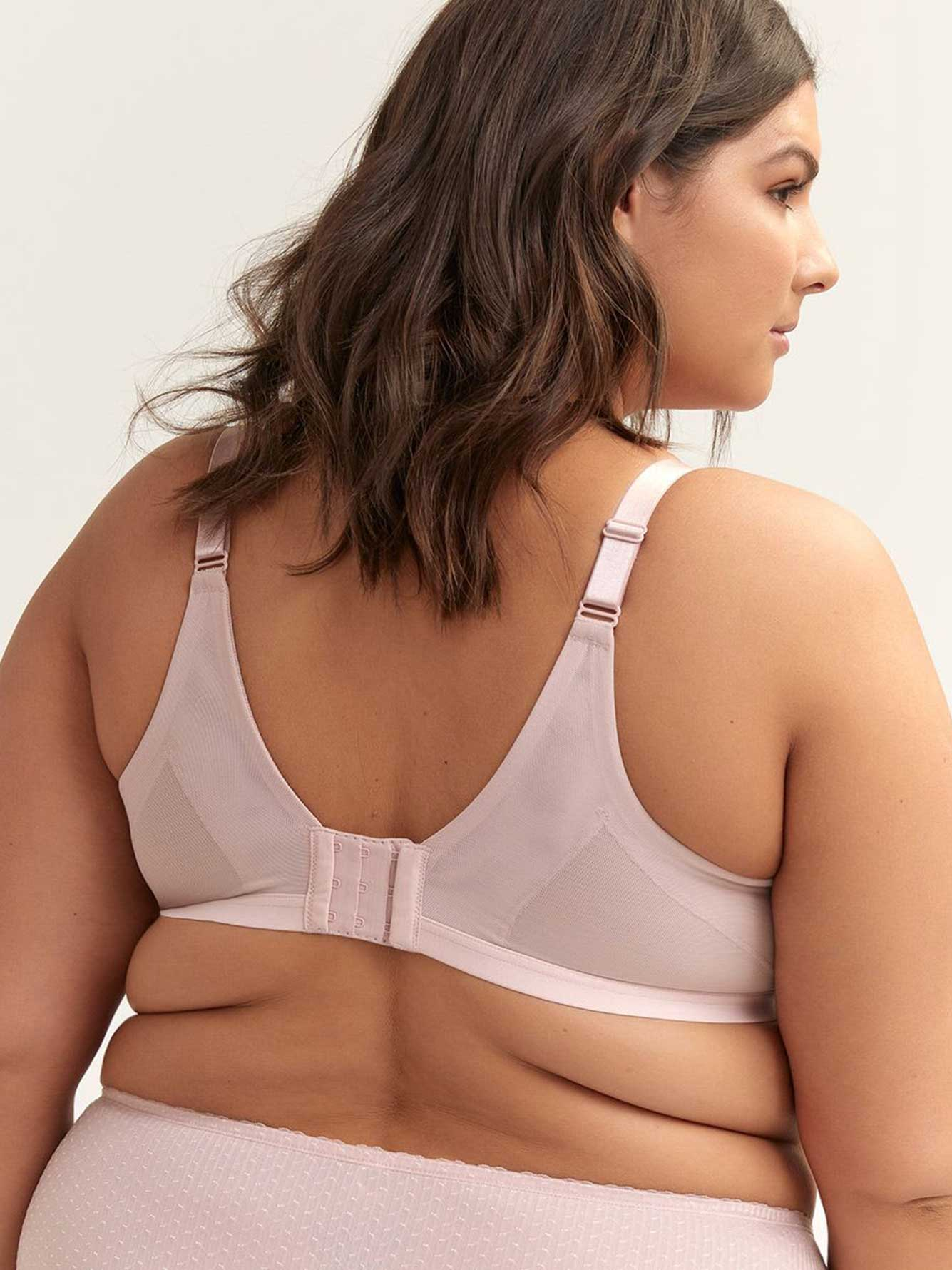Jacquard Soft Cup Bra with Criss-Cross Detail, G & H Cups - ti Voglio